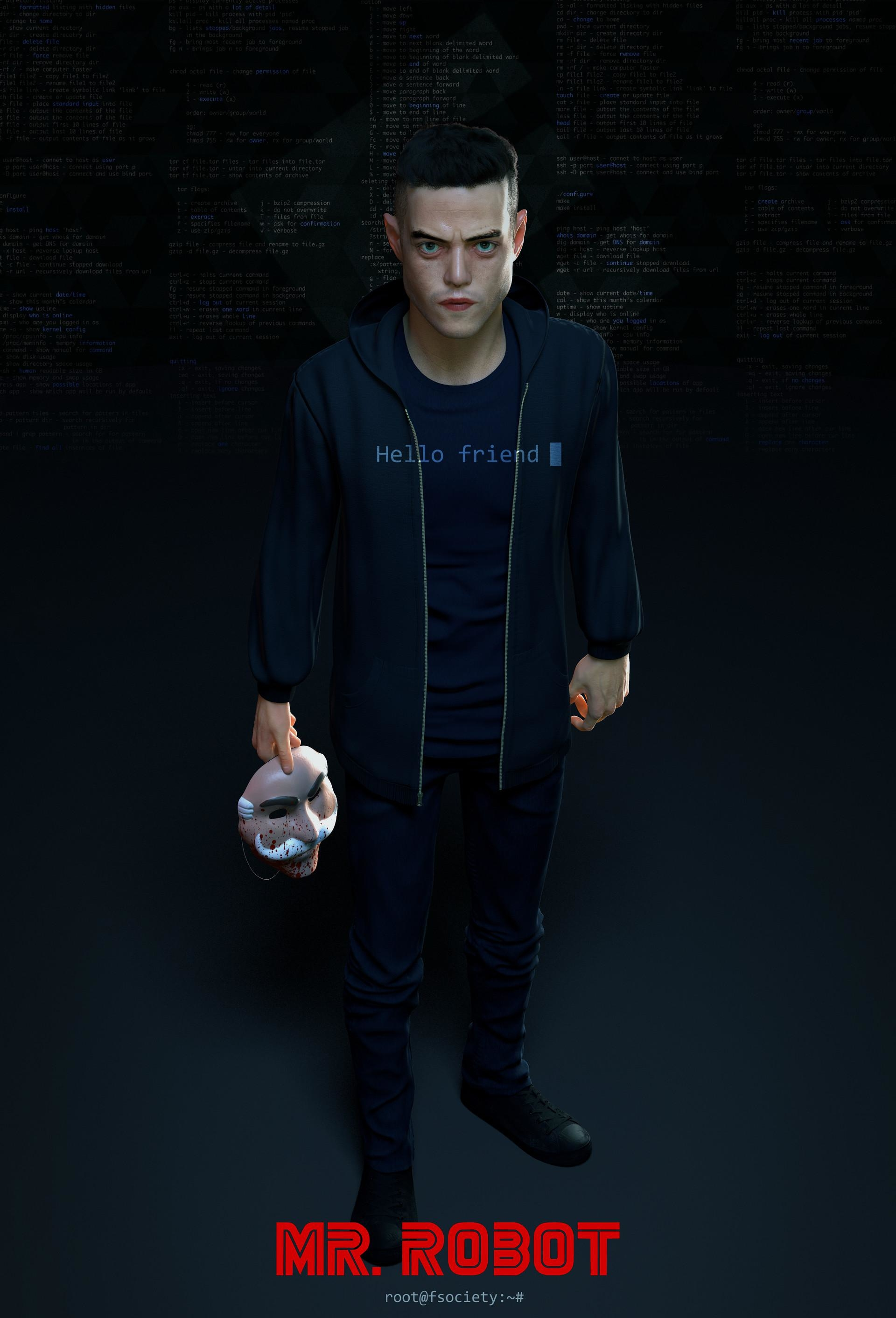 Hello Friend Mr Robot Wallpaper Hd Tv Series 4k Wallpapers Images Photos And Background