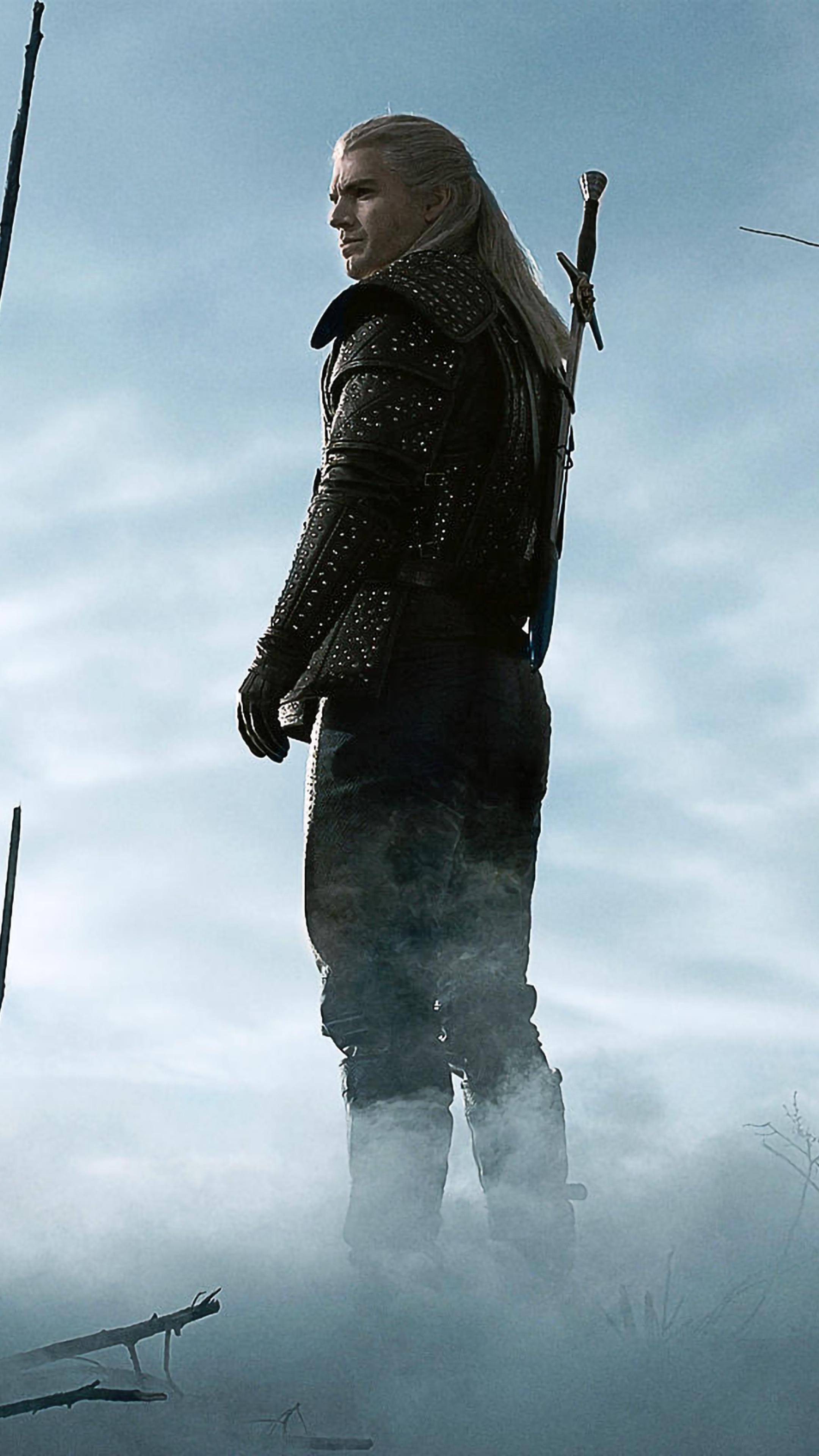 2160x3840 Henry Cavill As Geralt De Rivia In The Witcher