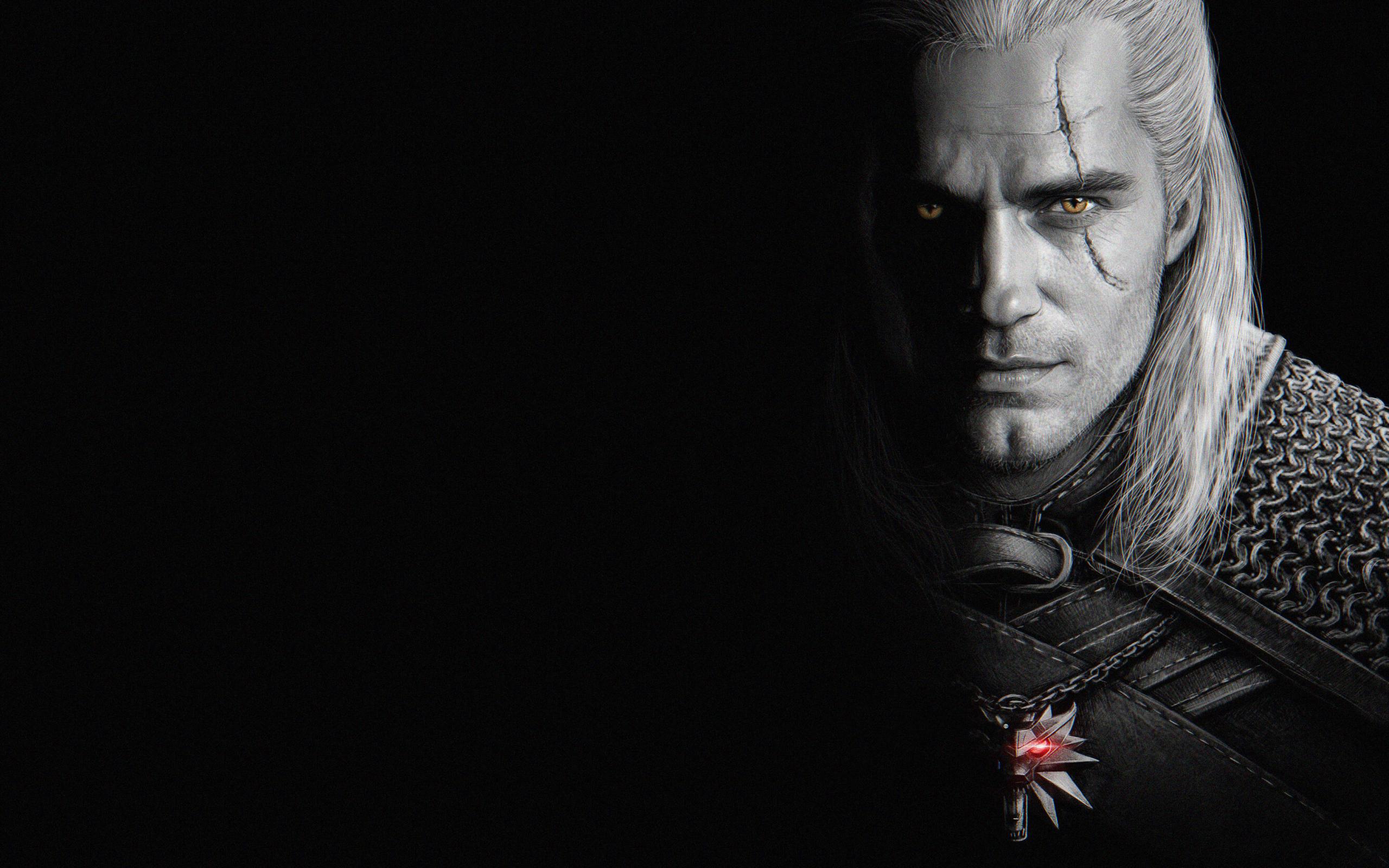 2560x1600 Henry Cavill As Geralt Of Rivia 2560x1600