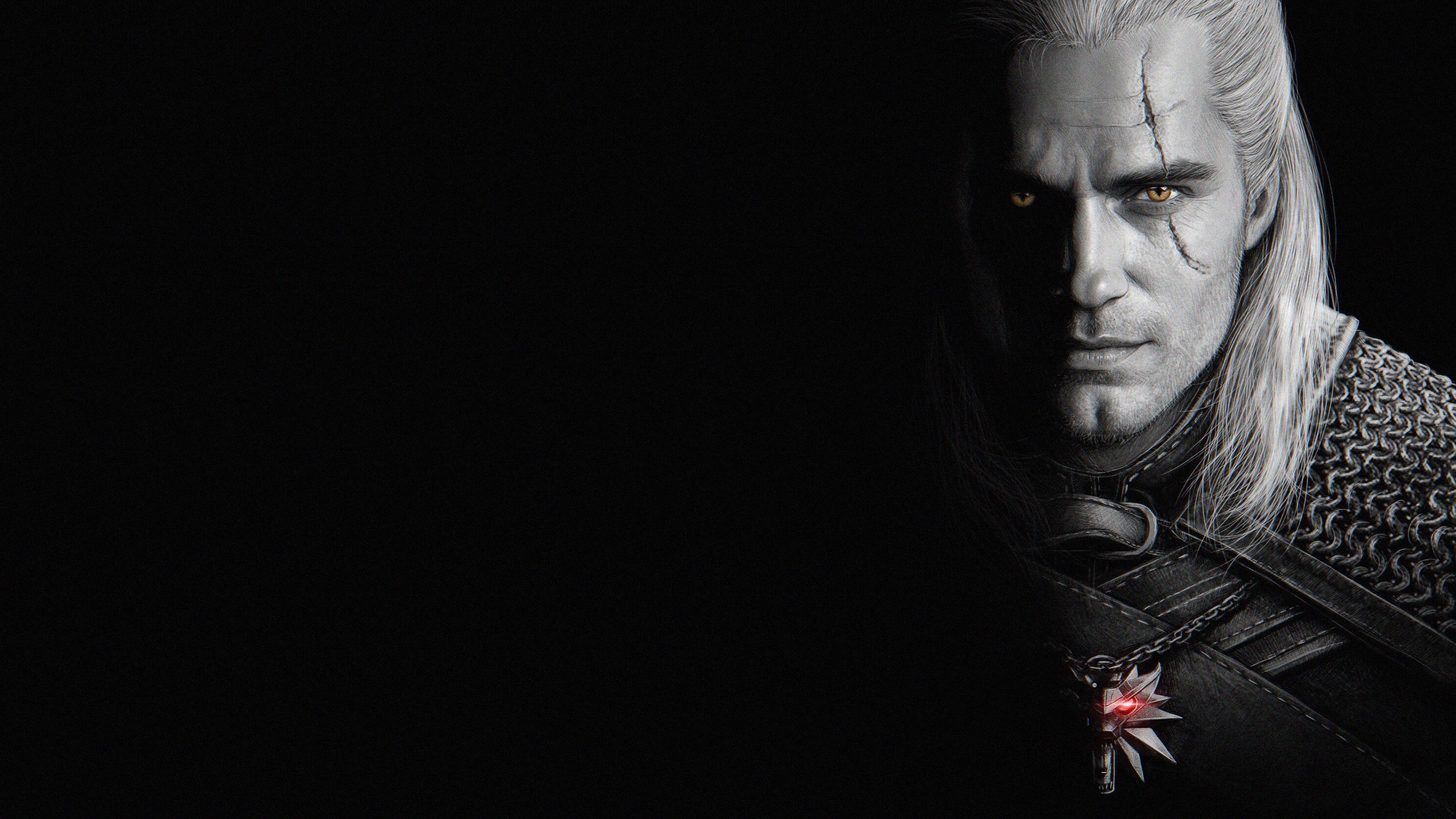 Henry Cavill As Geralt Of Rivia Wallpaper Hd Tv Series 4k