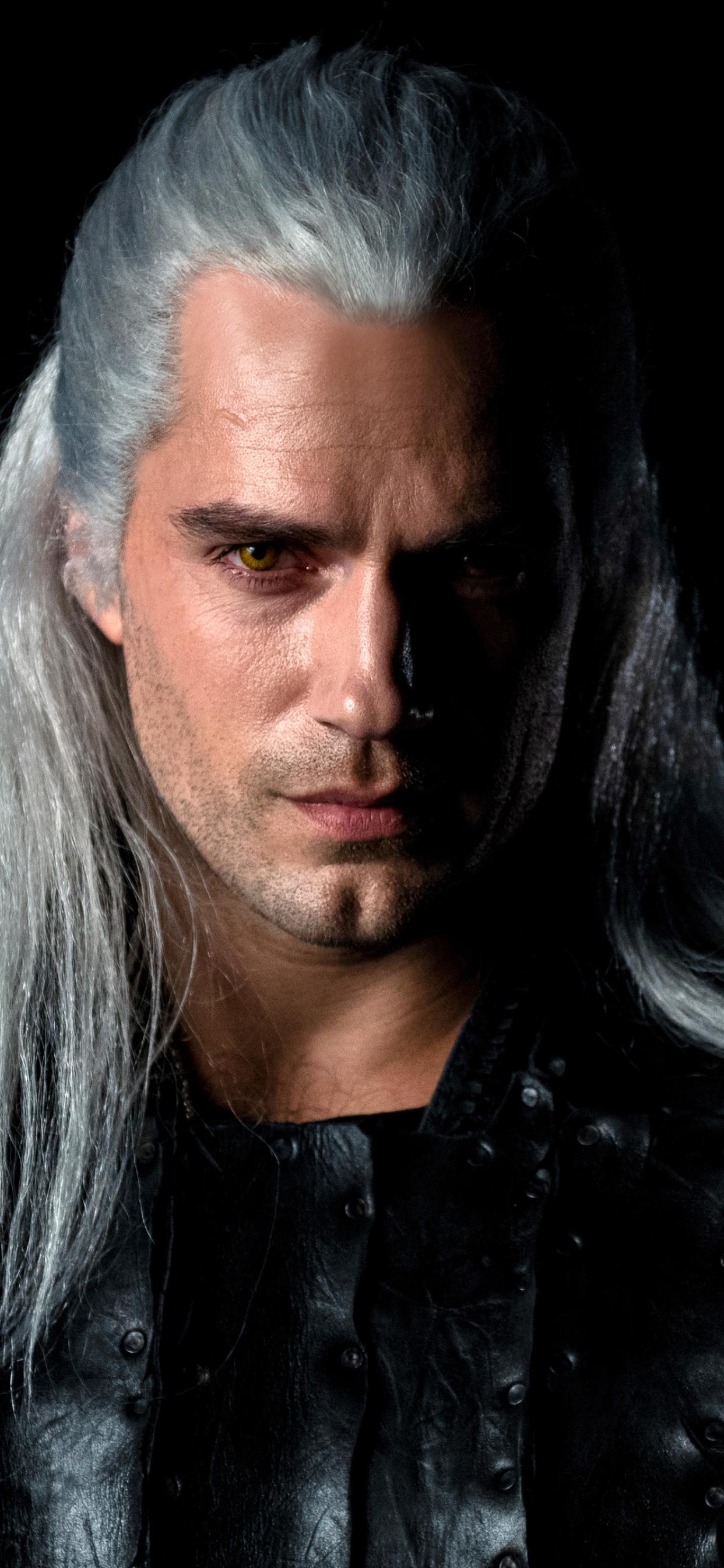 1242x2688 Henry Cavill As Geralt The Witcher Netflix Iphone