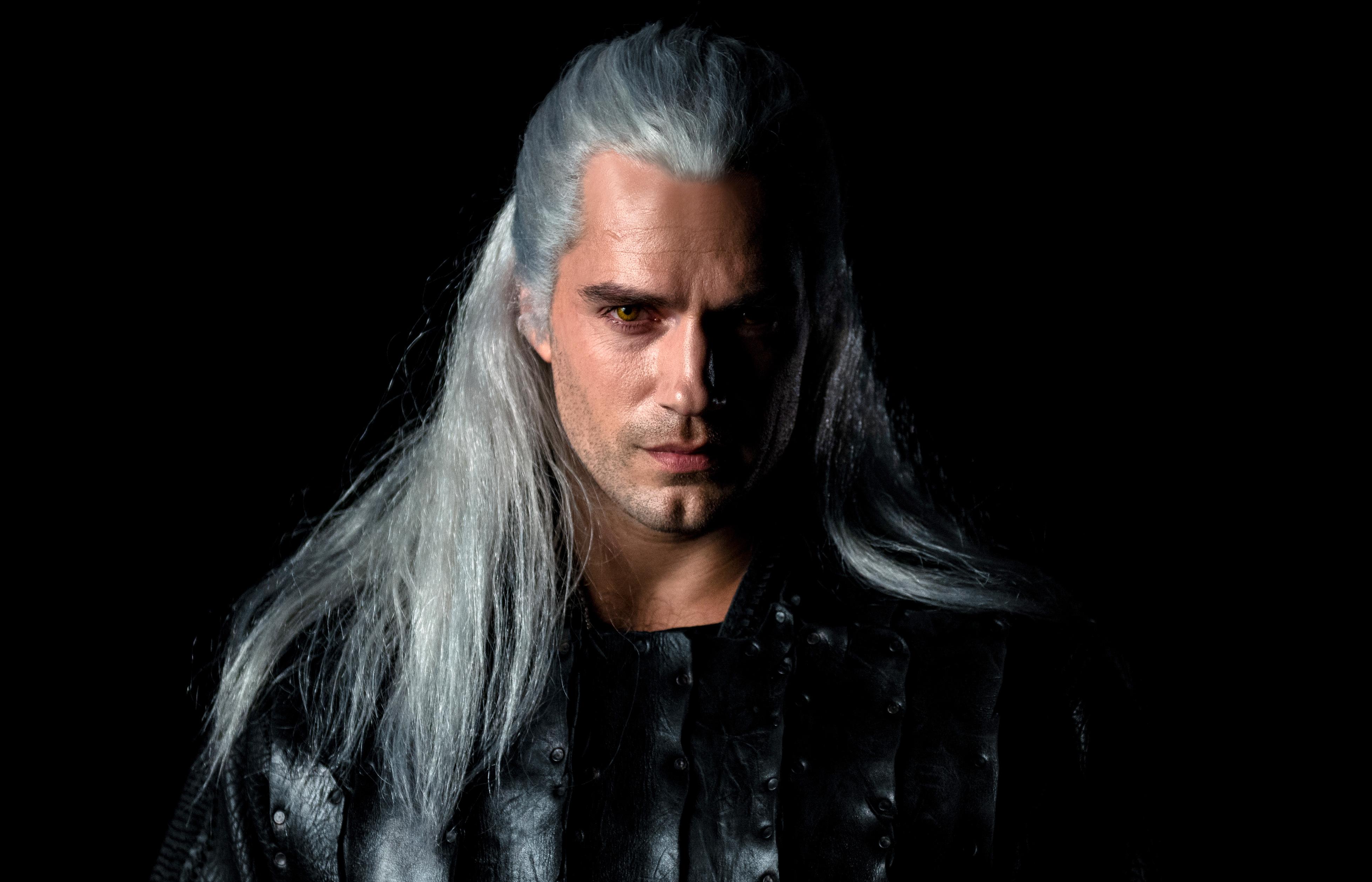 Henry Cavill As Geralt The Witcher Netflix Wallpaper Hd Tv