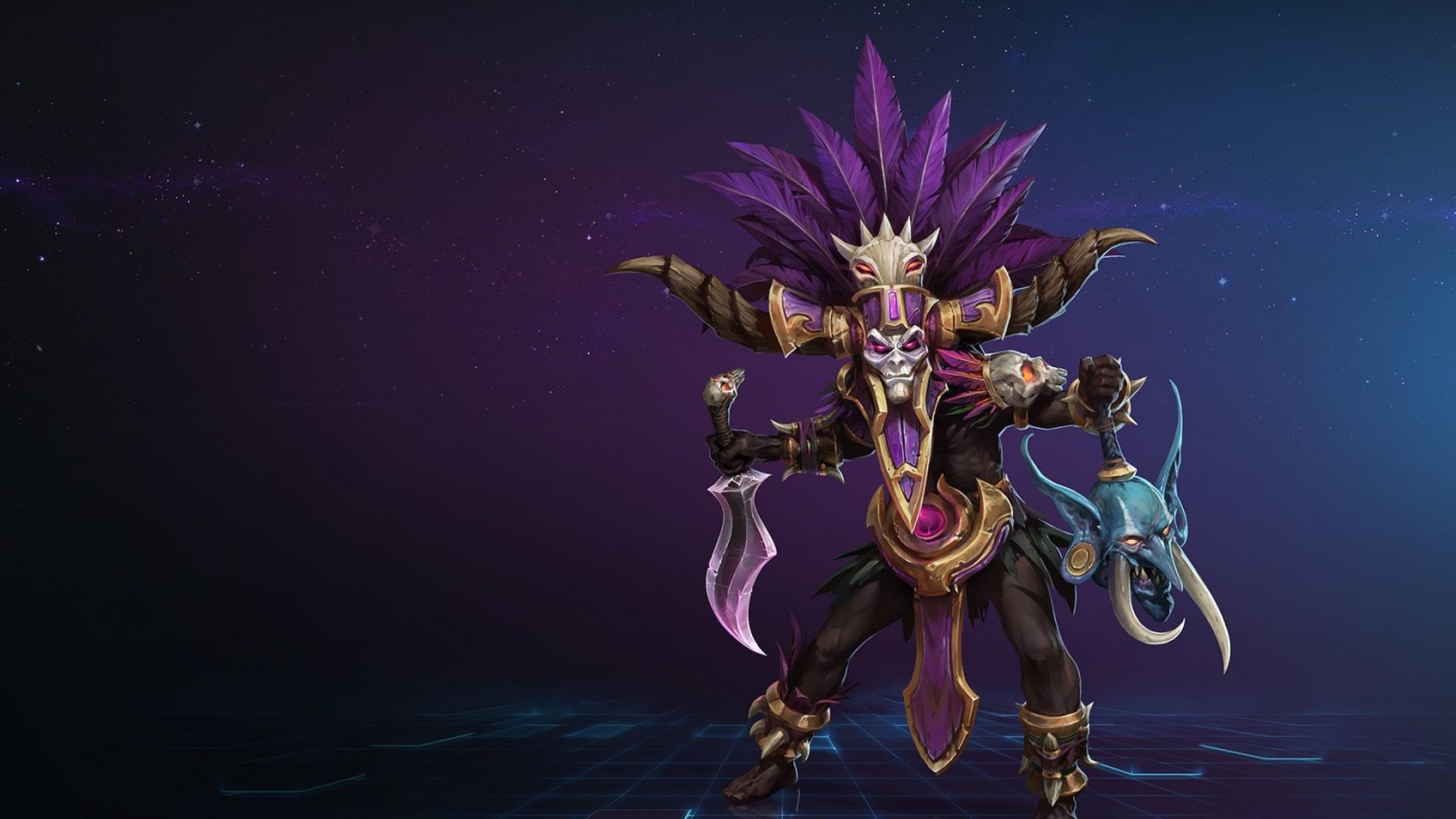 3840x2160 Heroes Of The Storm Blizzard Warlock 4k Wallpaper Hd