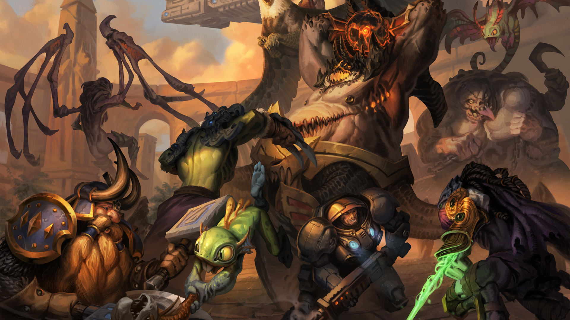 1920x1080 Heroes Of The Storm Warcraft Murky 1080p Laptop Full
