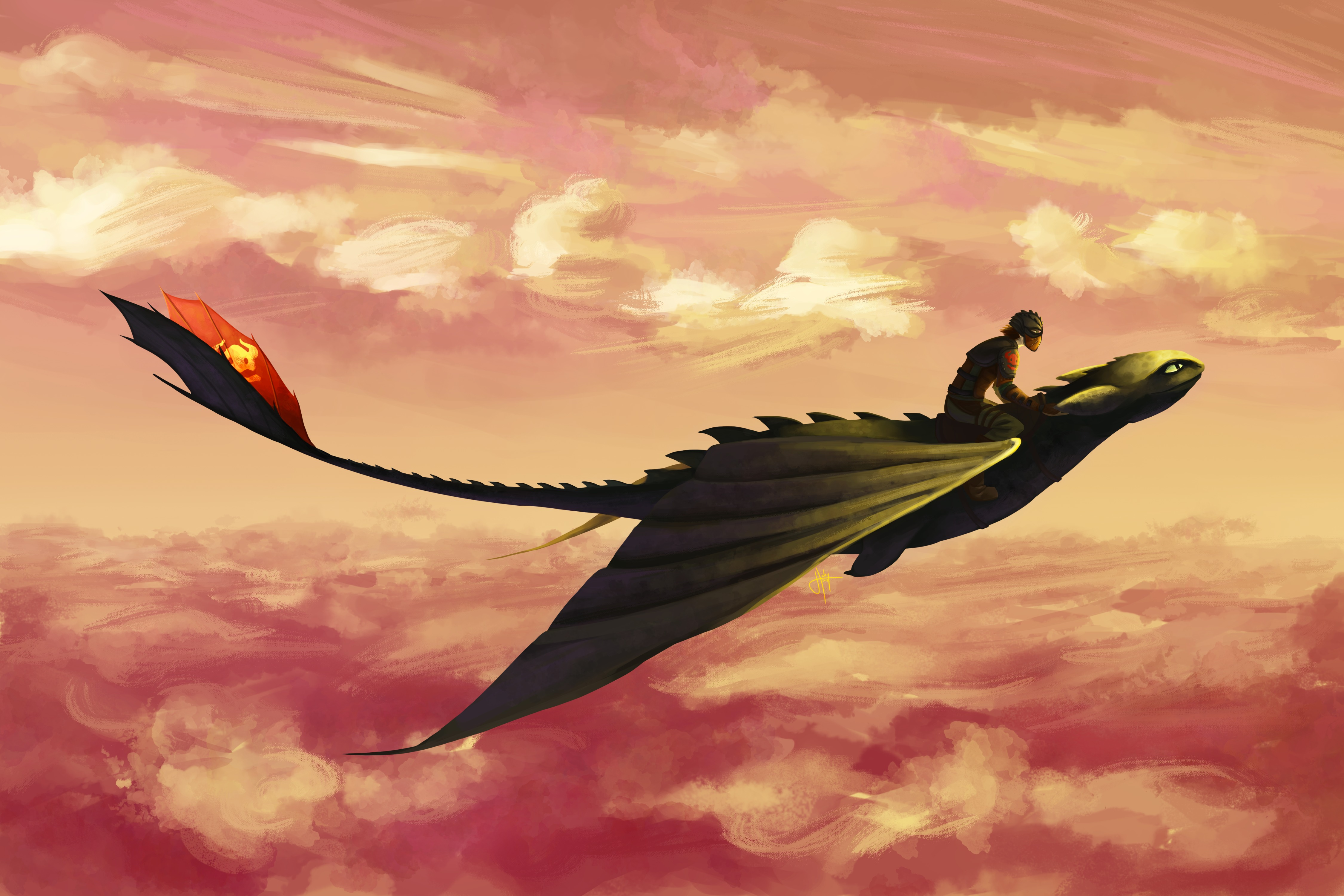 Hiccup And Toothless Flying Wallpaper Hd Movies 4k Wallpapers Images Photos And Background
