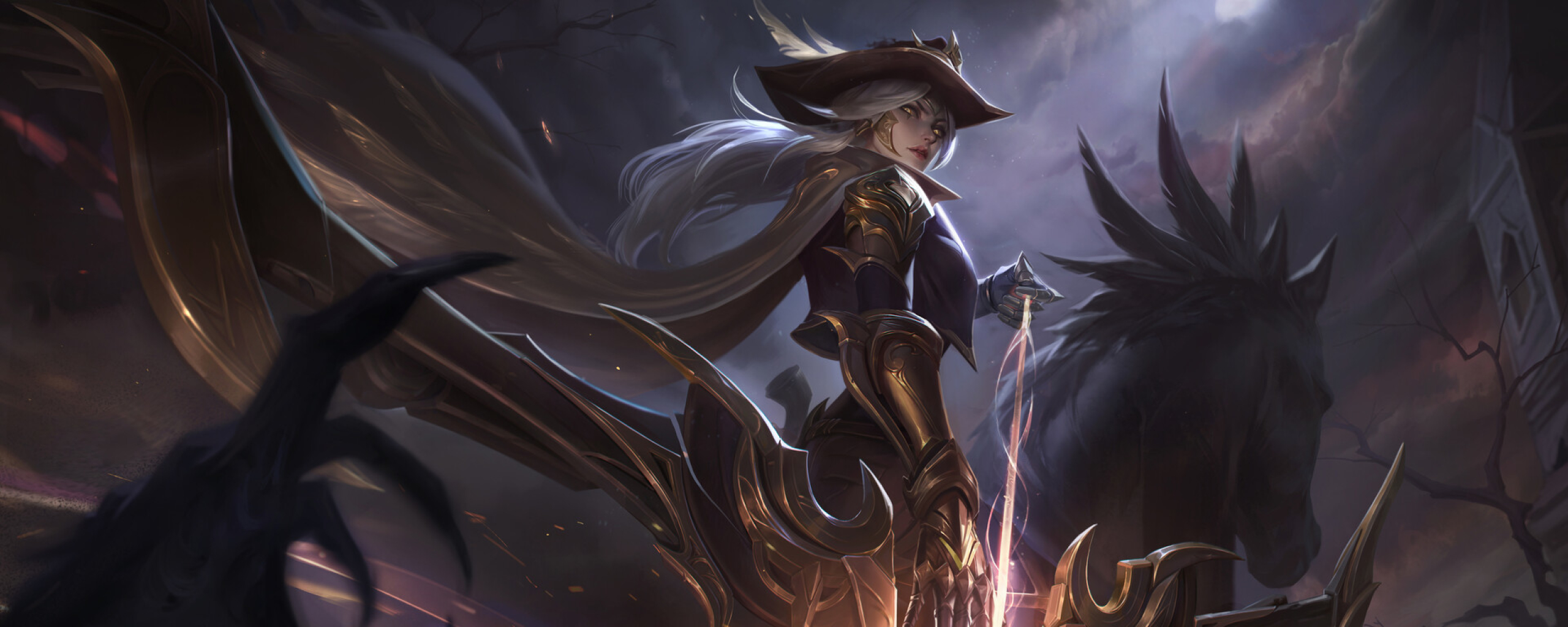 2560x1024 High Noon Ashe 2560x1024 Resolution Wallpaper Hd Games