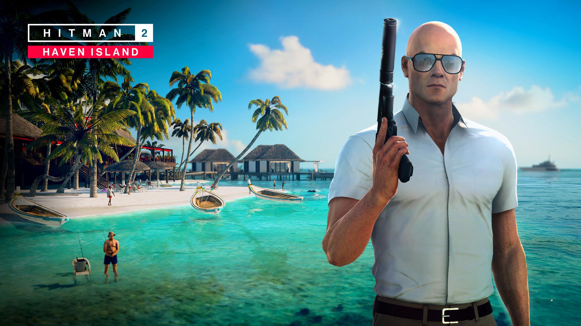 Hitman 2 Haven Island Wallpaper Hd Games 4k Wallpapers Images