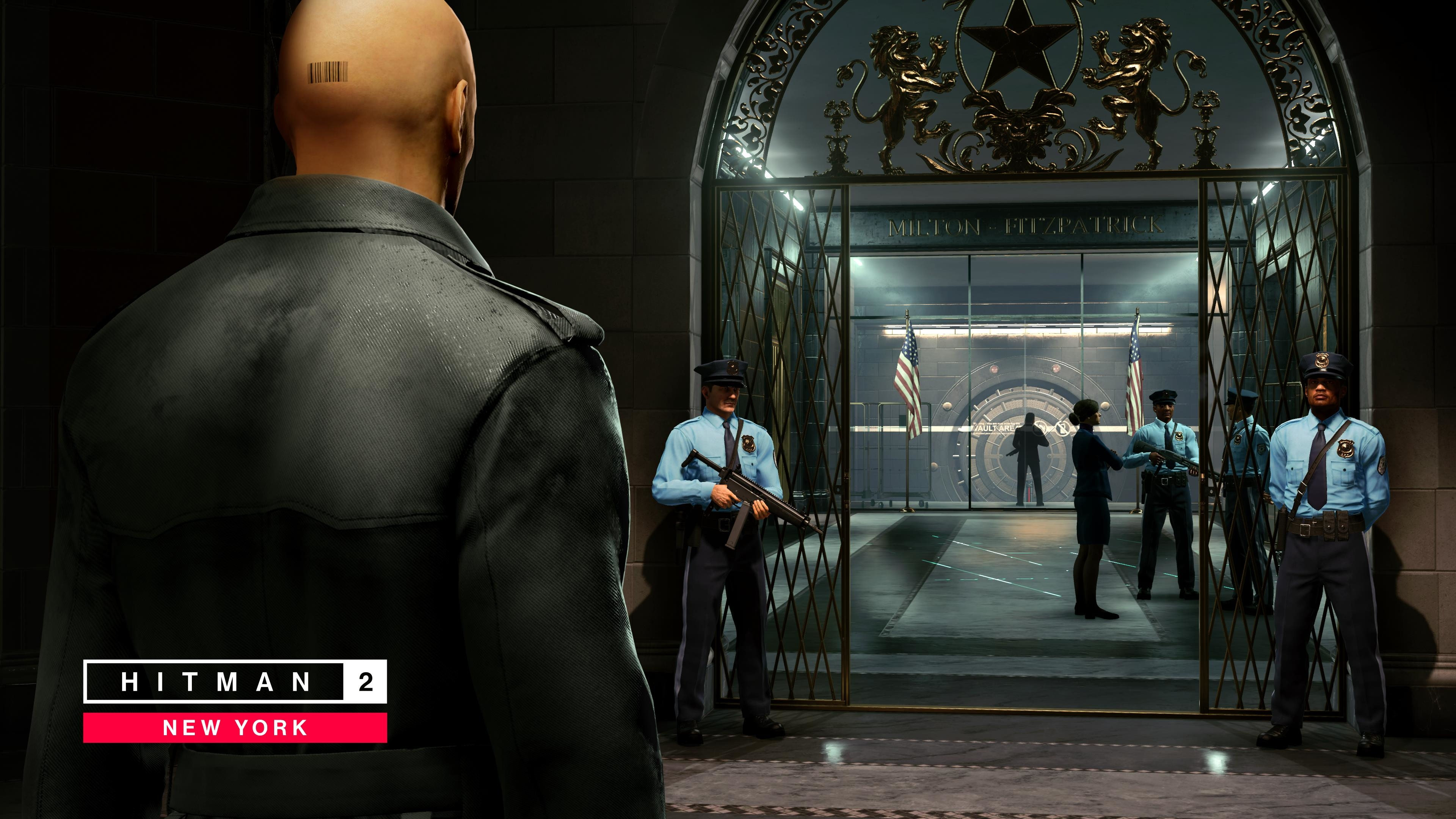1440x3040 Hitman 2 The Bank 1440x3040 Resolution Wallpaper Hd