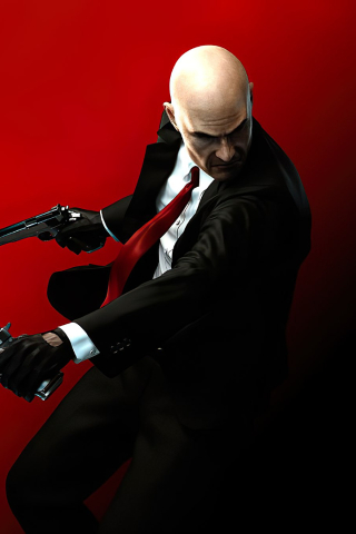 320x480 Hitman Absolution Agent 47 Apple Iphone Ipod Touch Galaxy
