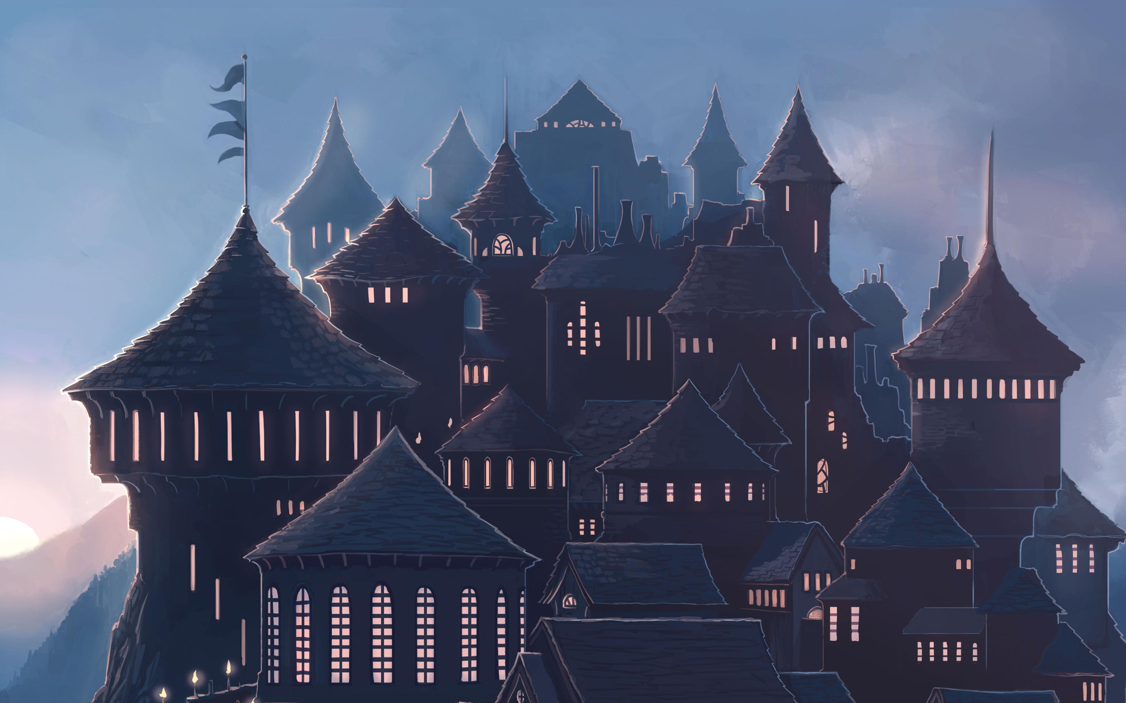 Hogwarts harry potter school hd 4k wallpaper - Harry potter images download ...