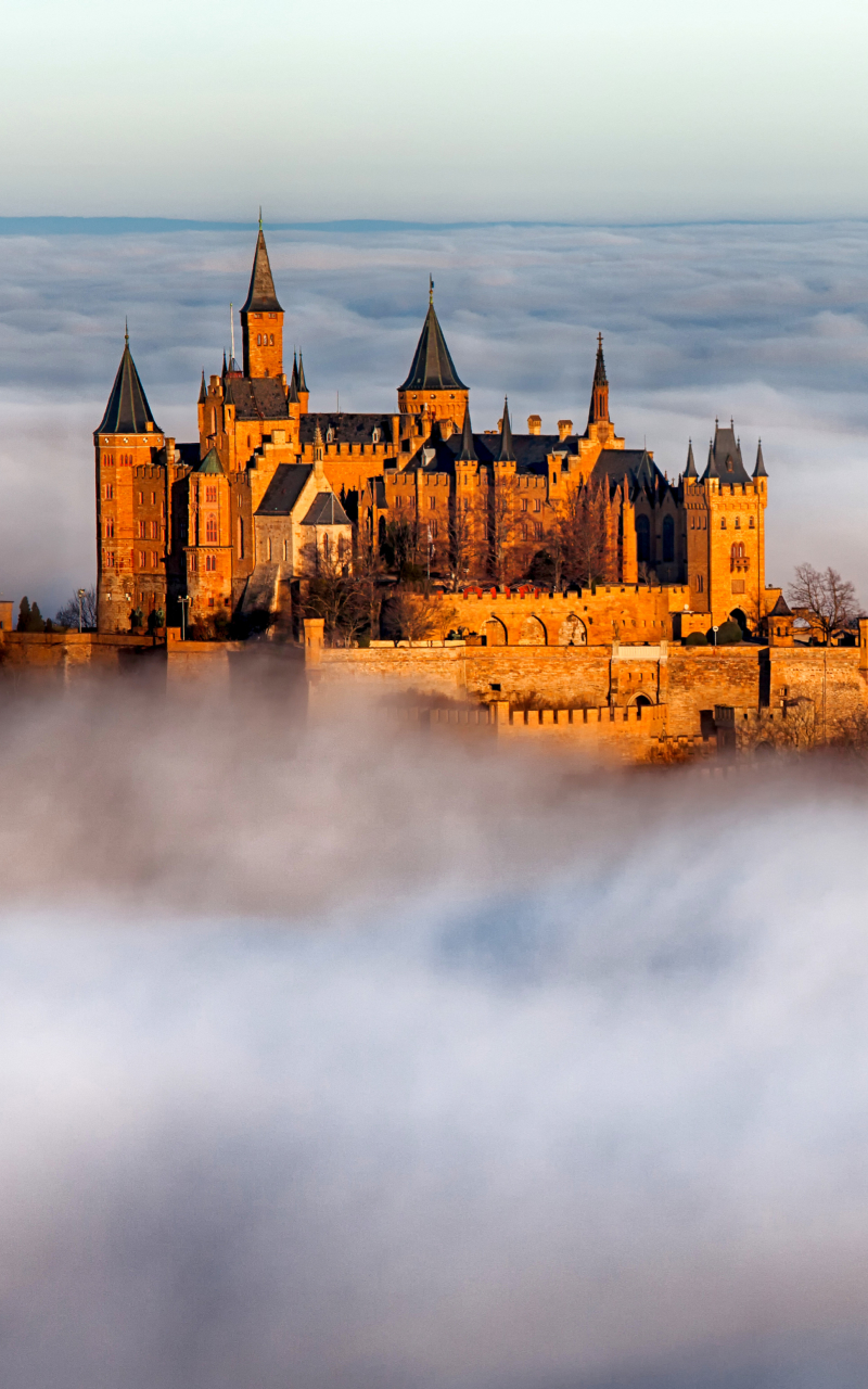 Hohenzollern Castle Wallpaper in 800x1280 Resolution