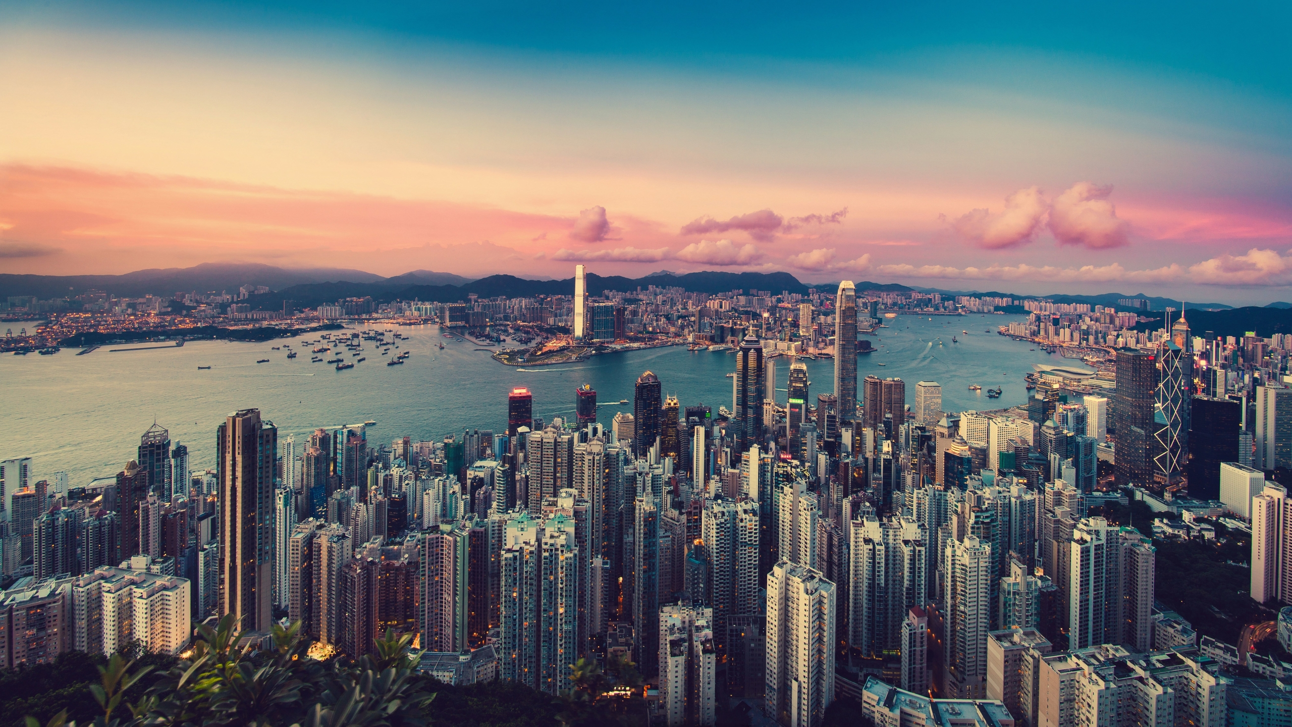 2560x1440 Hong Kong 8k 1440p Resolution Wallpaper Hd City