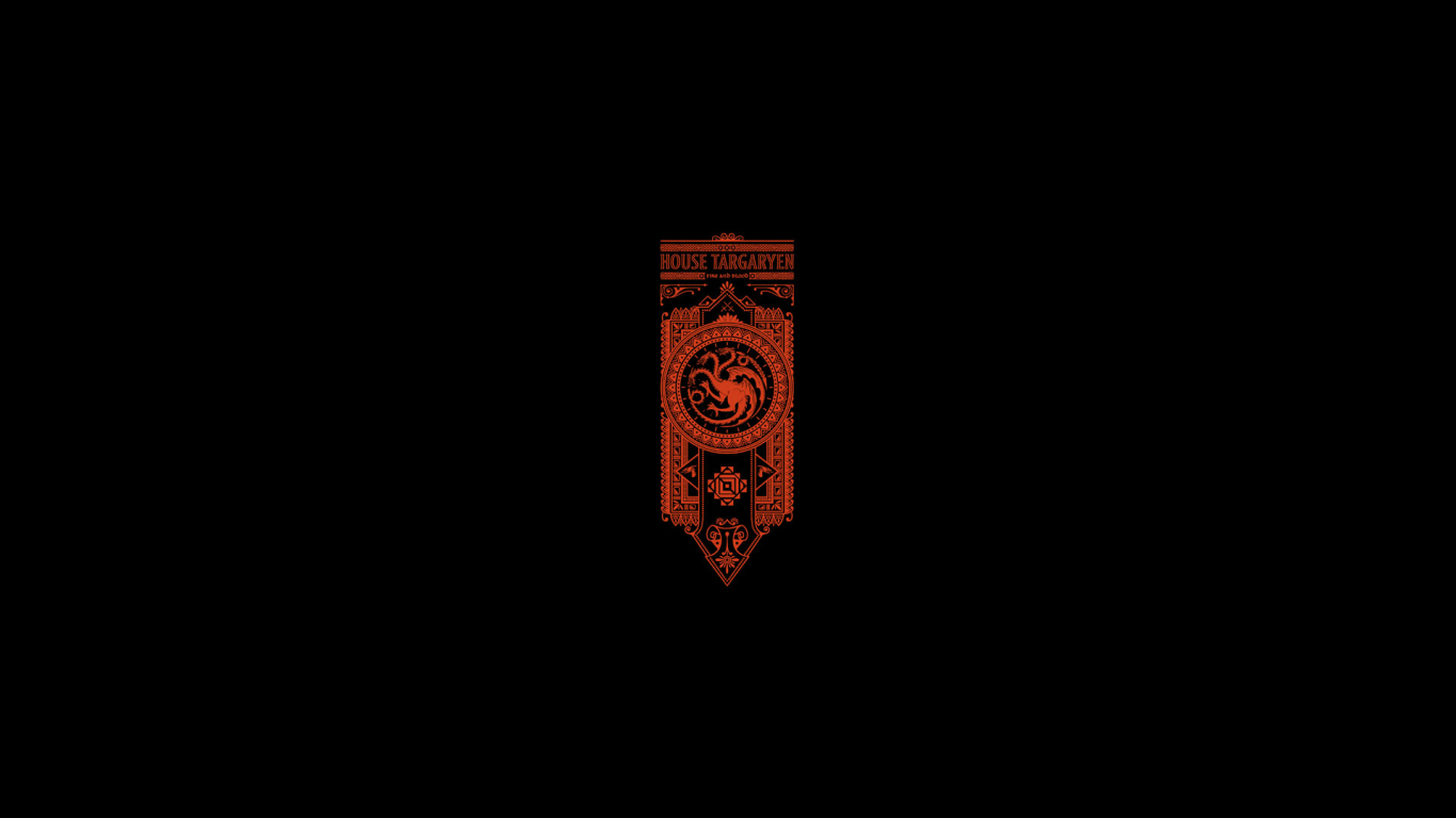 1366x768 House Targaryen Game Of Thrones 1366x768 Resolution