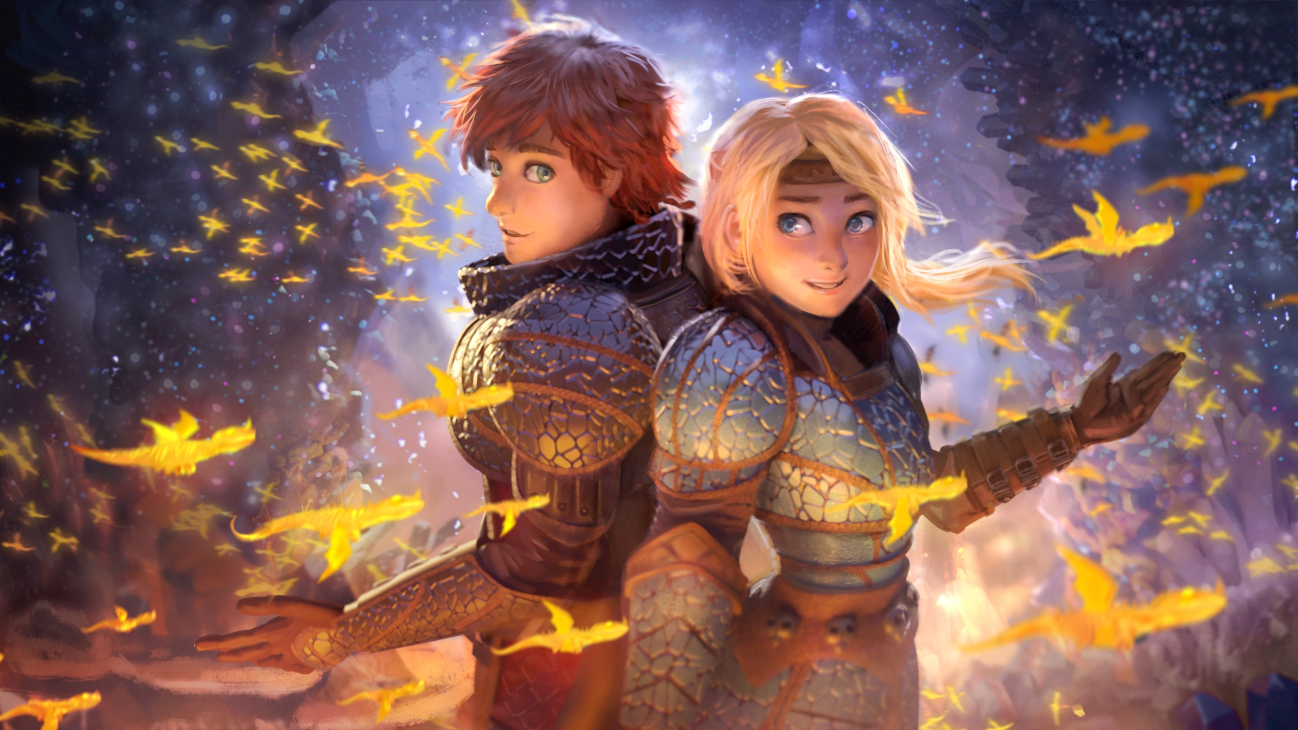 2560x1440 How To Train Your Dragon The Hidden World Movie 1440p