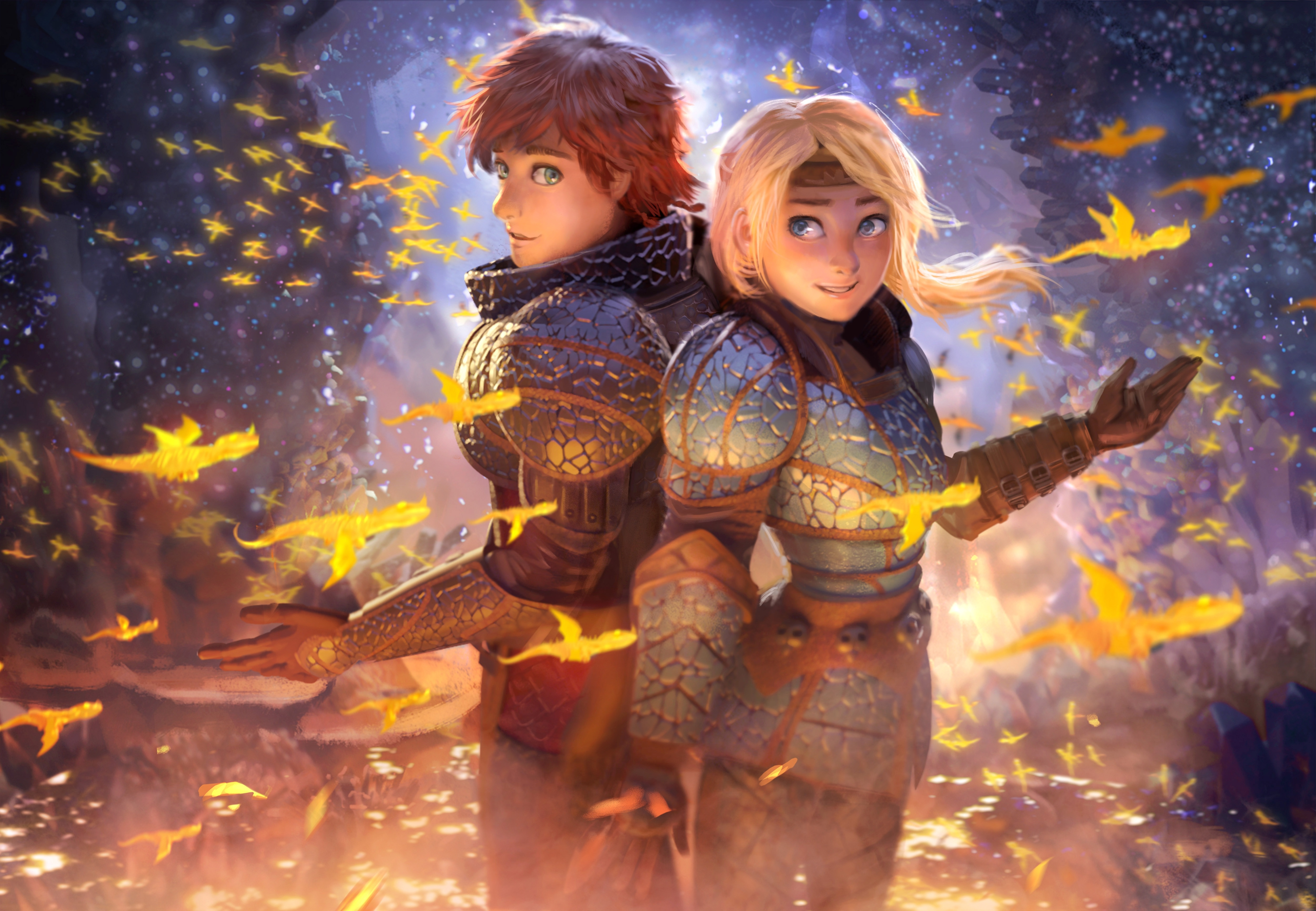 2560x1080 How To Train Your Dragon The Hidden World Movie