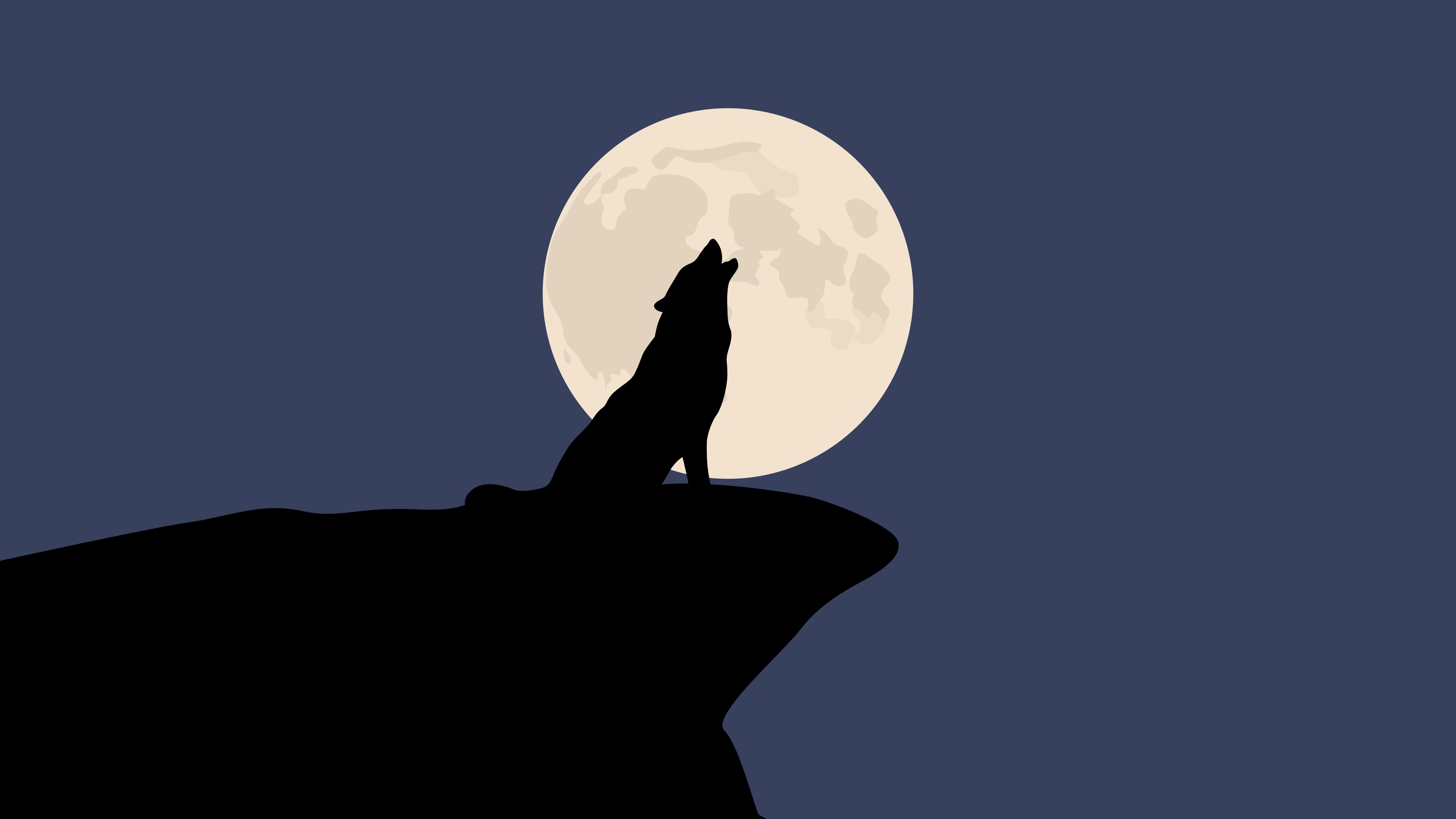 Download Howling Wolf 1920x1200 Resolution HD 4K Wallpaper
