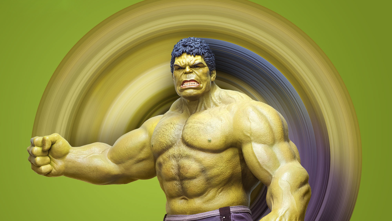 1360x768 Hulk Avengers Endgame Art Desktop Laptop Hd