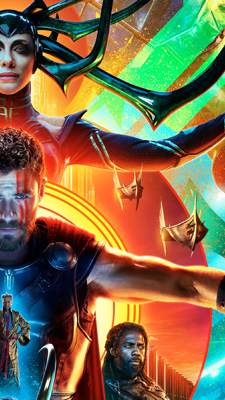 720x1280 Hulk Hela Thor In Thor Ragnarok Poster Moto G X