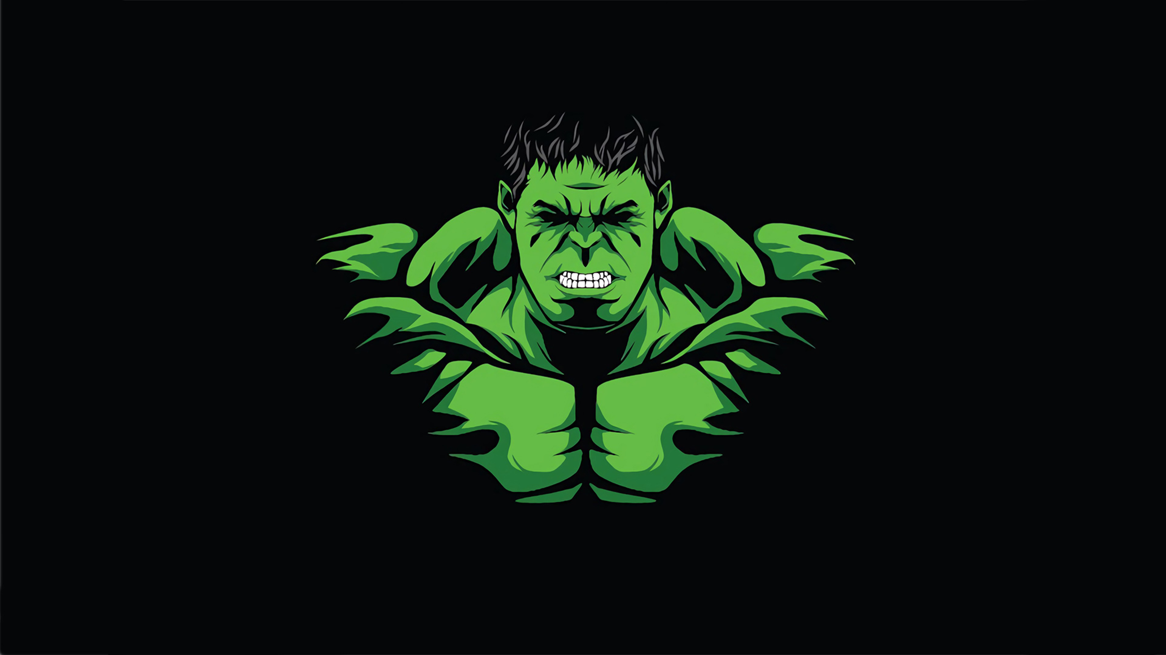3840x2160 Hulk Minimal 4k Wallpaper Hd Superheroes 4k Wallpapers