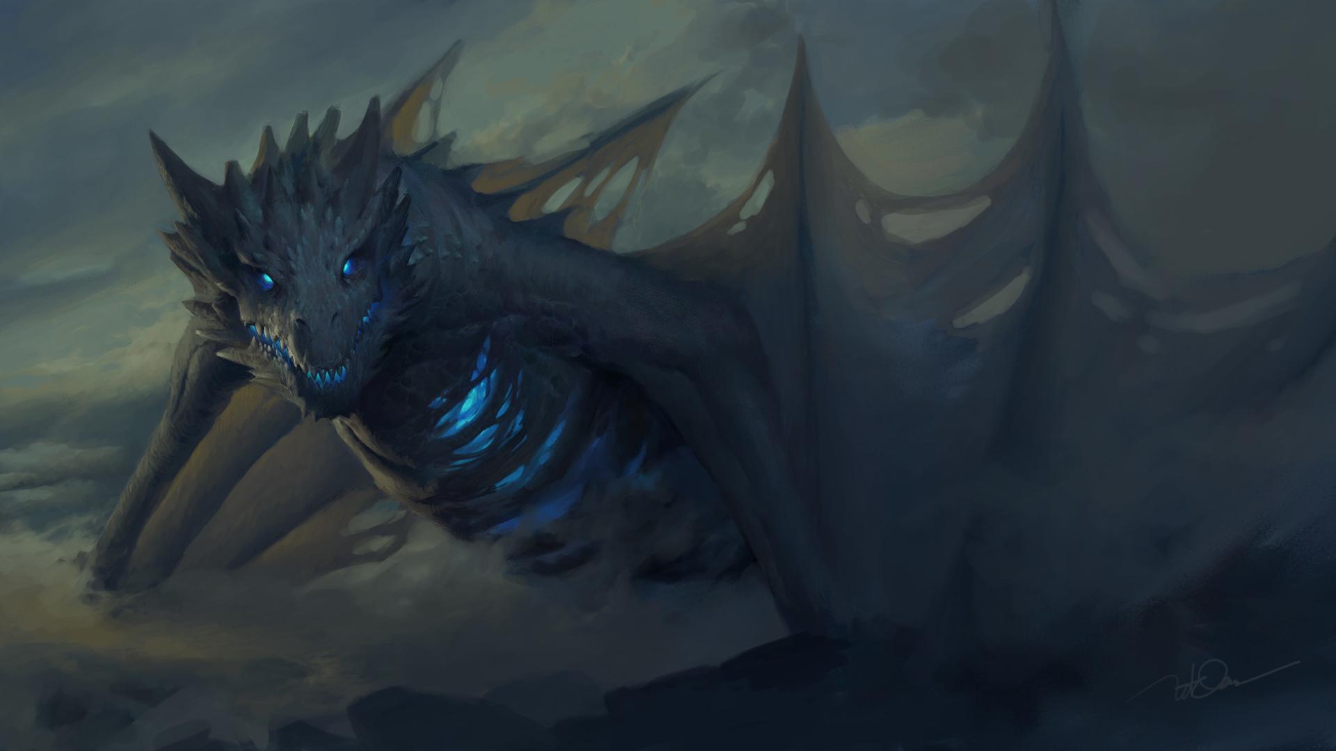 Ice Dragon Game Of Thrones 7 Full HD Wallpaper