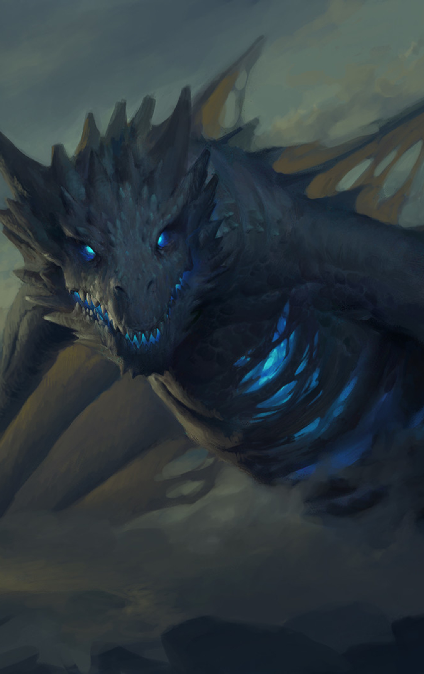 download ice dragon game of thrones 7 1080x1920 resolution, full hd