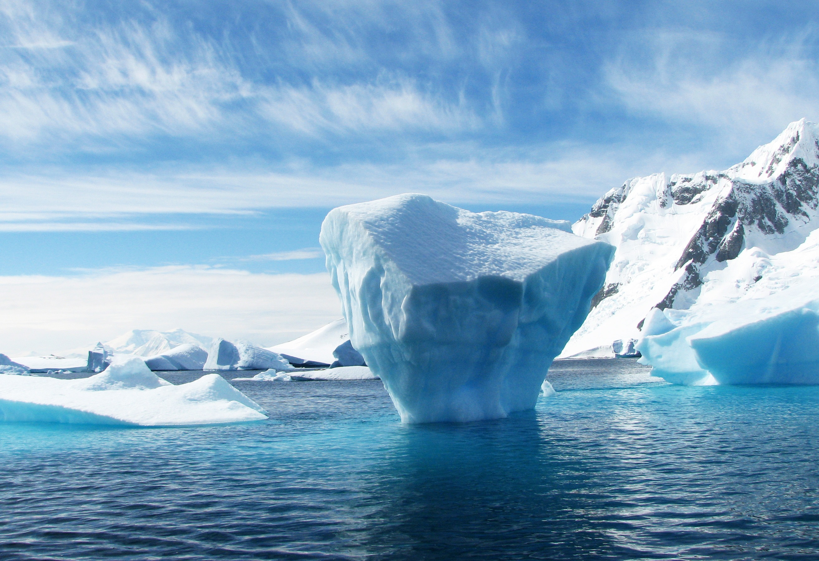 an analysis of the ice in antarctica
