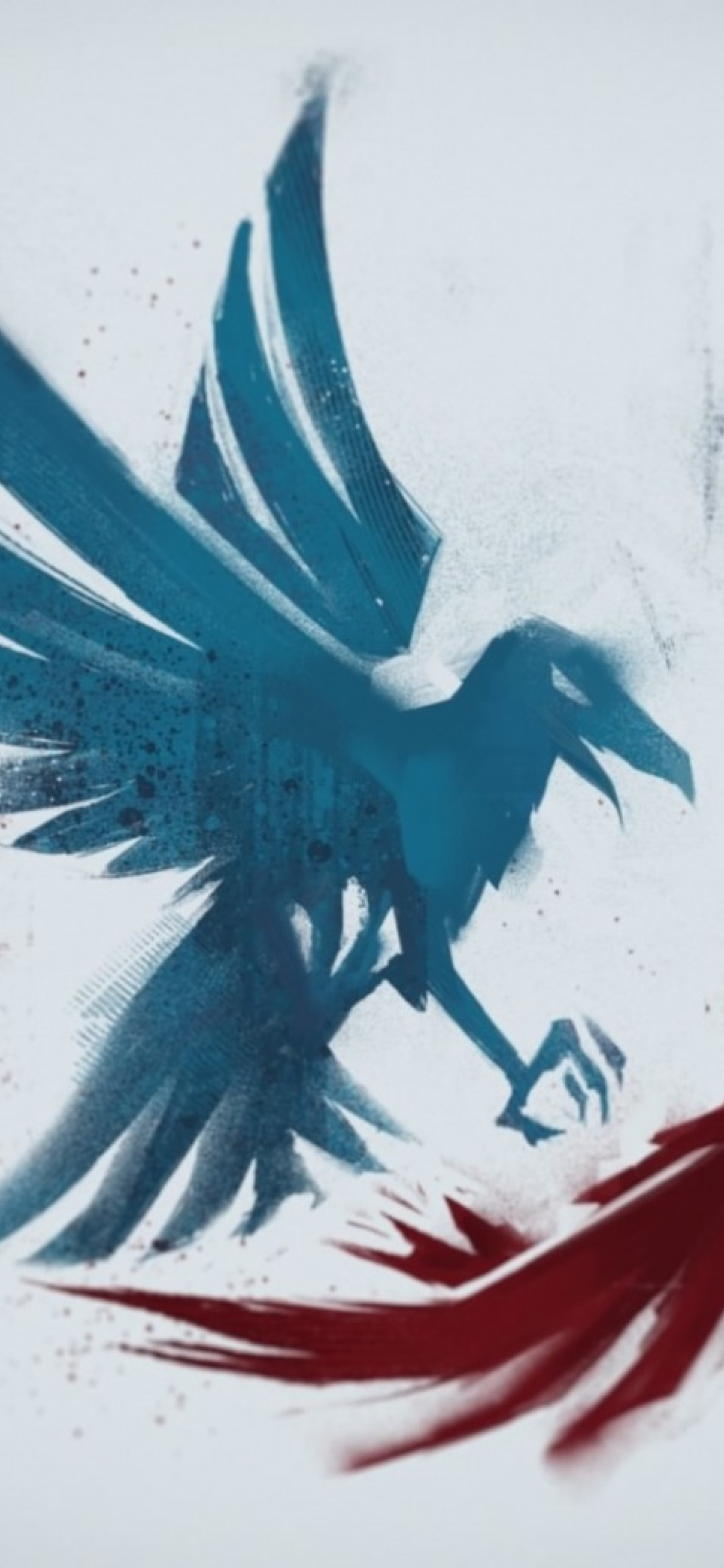 1242x2688 Infamous Second Son Bird Iphone Xs Max Wallpaper Hd