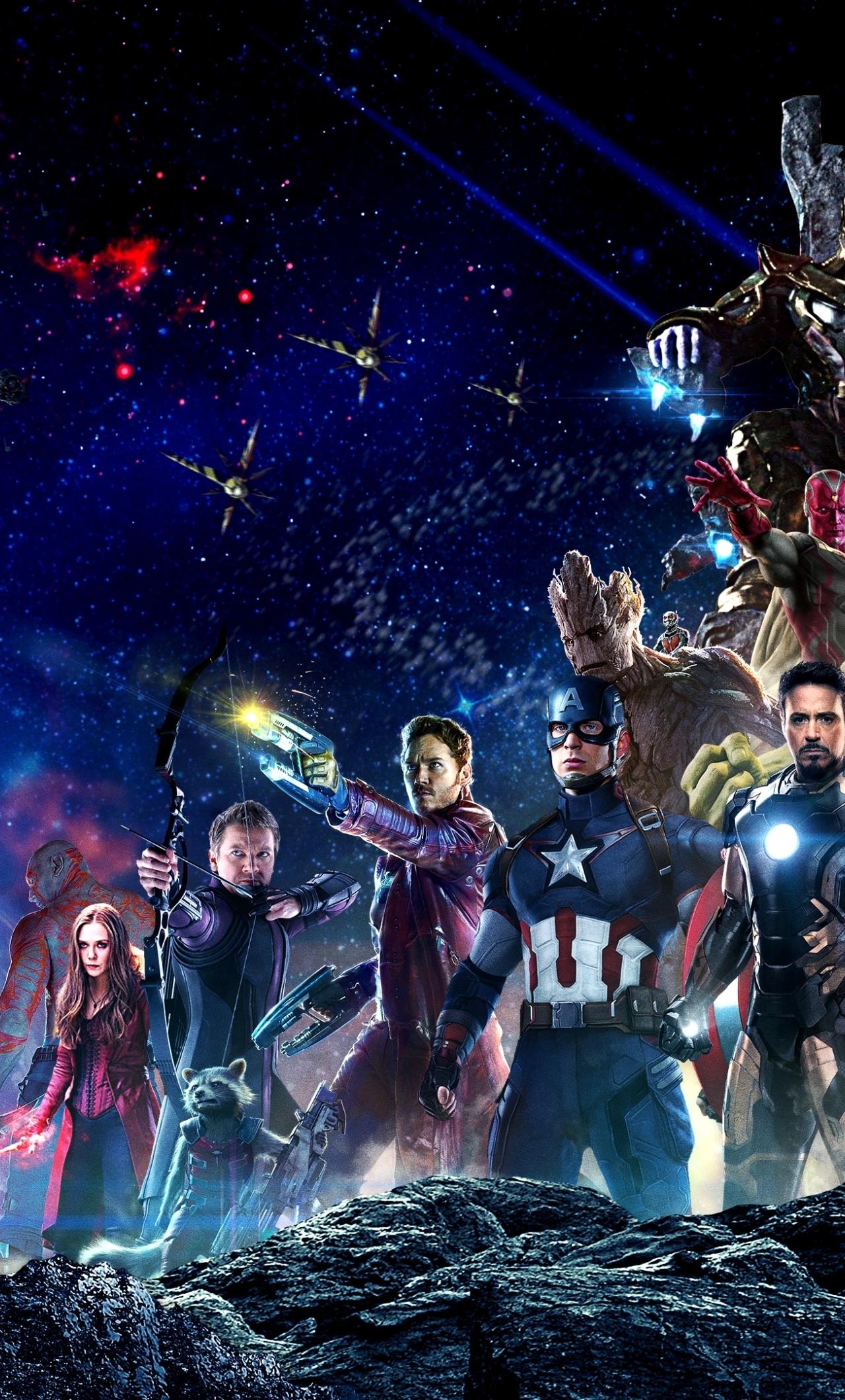 Infinity War All Superheroes, HD 4K Wallpaper