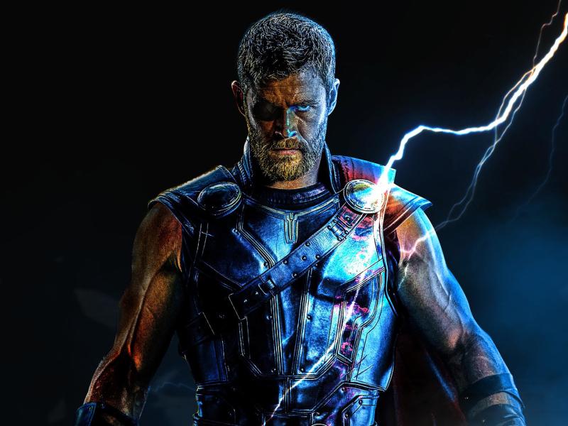 Infinity War Thor Digital Art, Full HD Wallpaper
