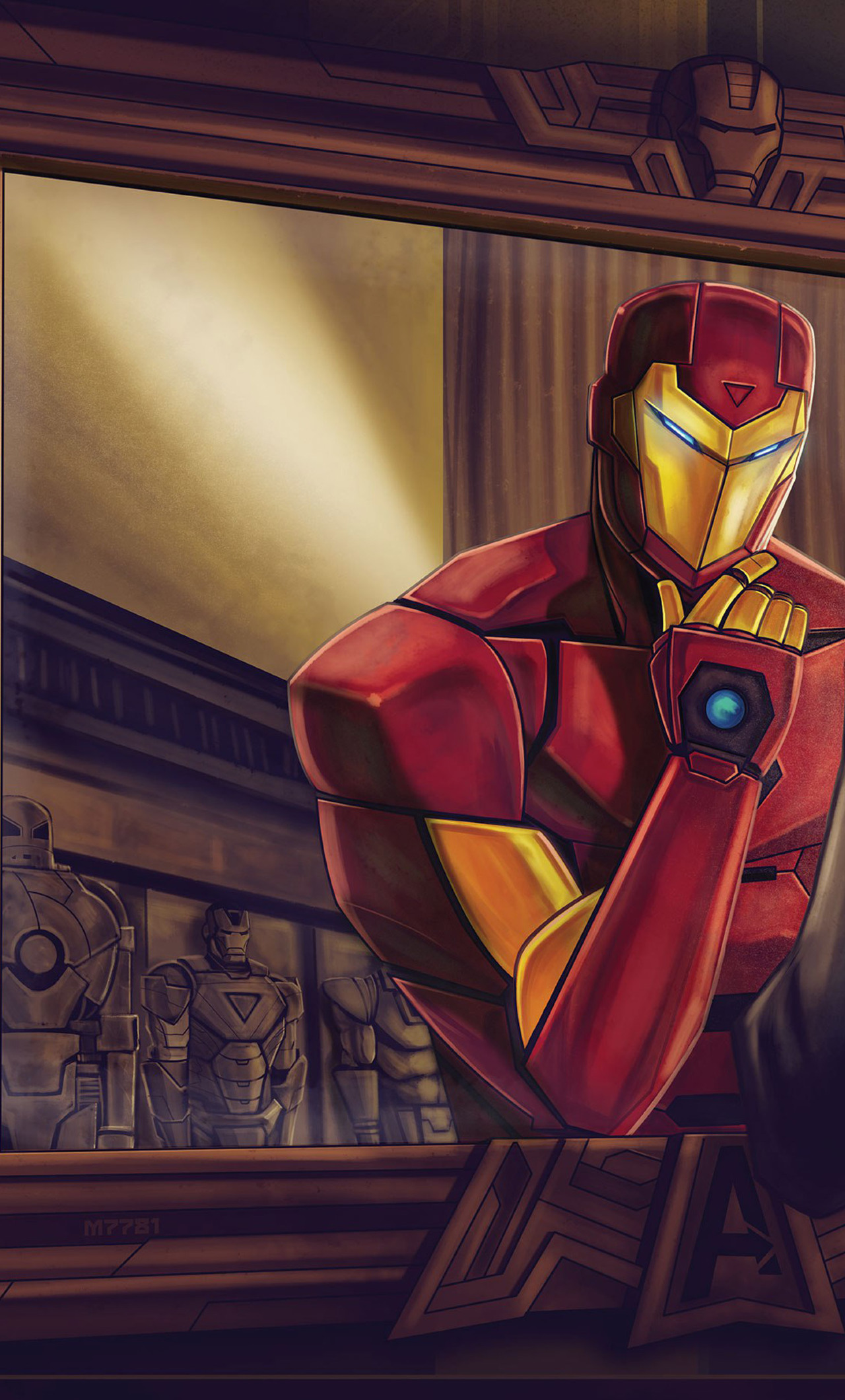 Download International Iron Man 320x480 Resolution, HD 4K