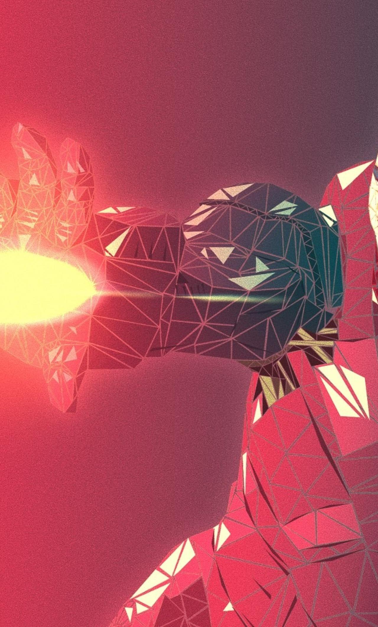 Iron Man Abstract 4k Jpg 2048 1152 Full Hd 2k Wallpaper