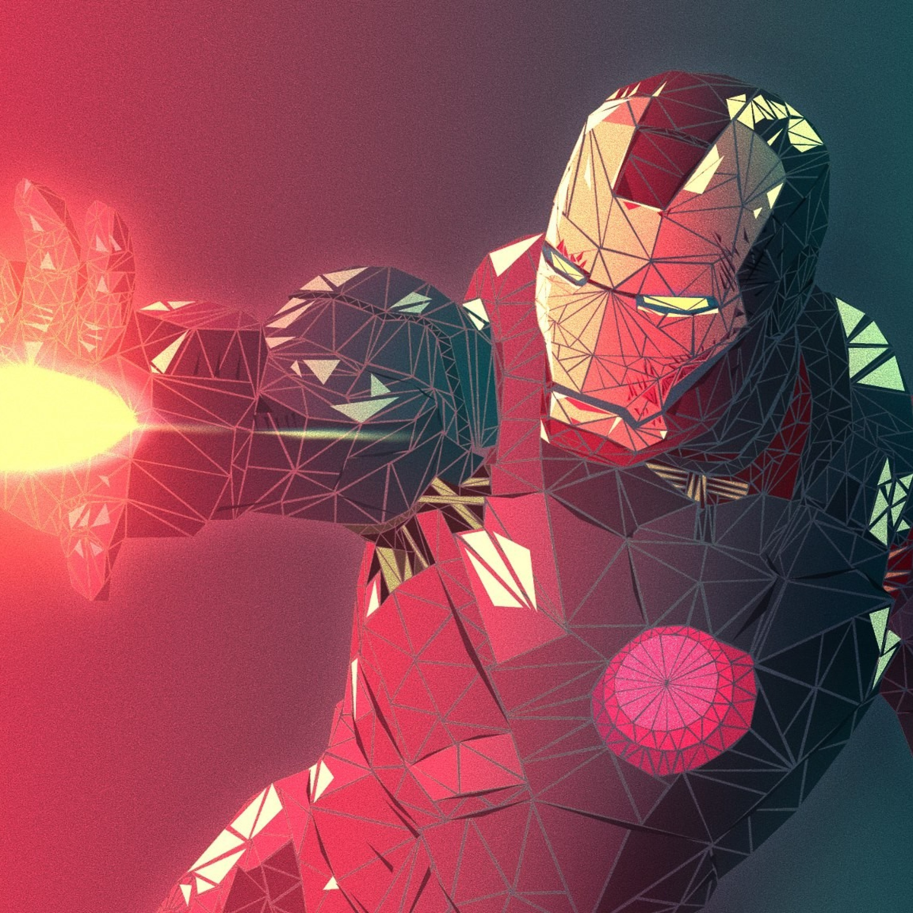 Iron-man-abstract-4k.jpg (2048×1152), Full HD 2K Wallpaper