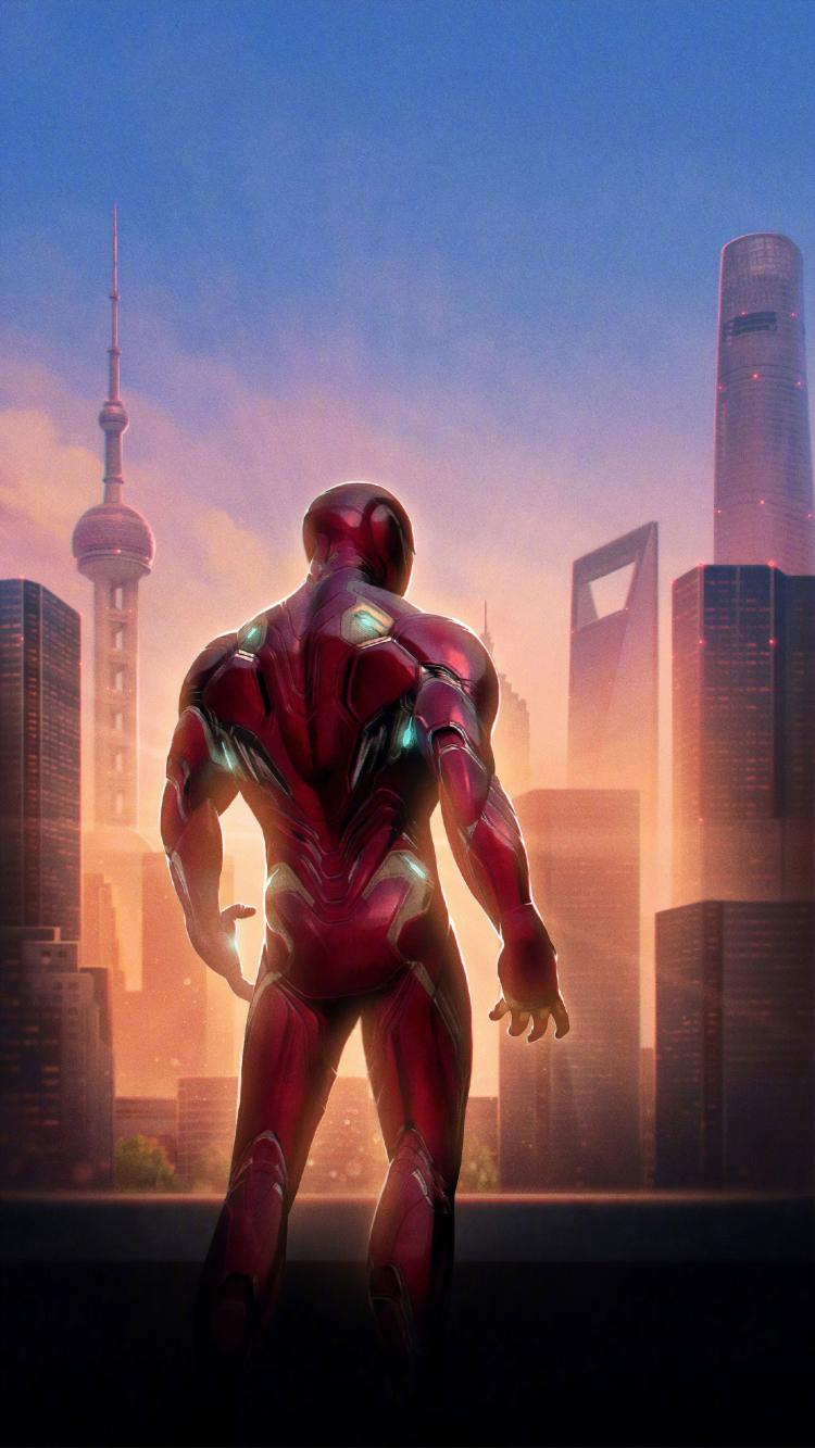 Iron Man Avengers Endgame Wallpaper in 750x1334 Resolution