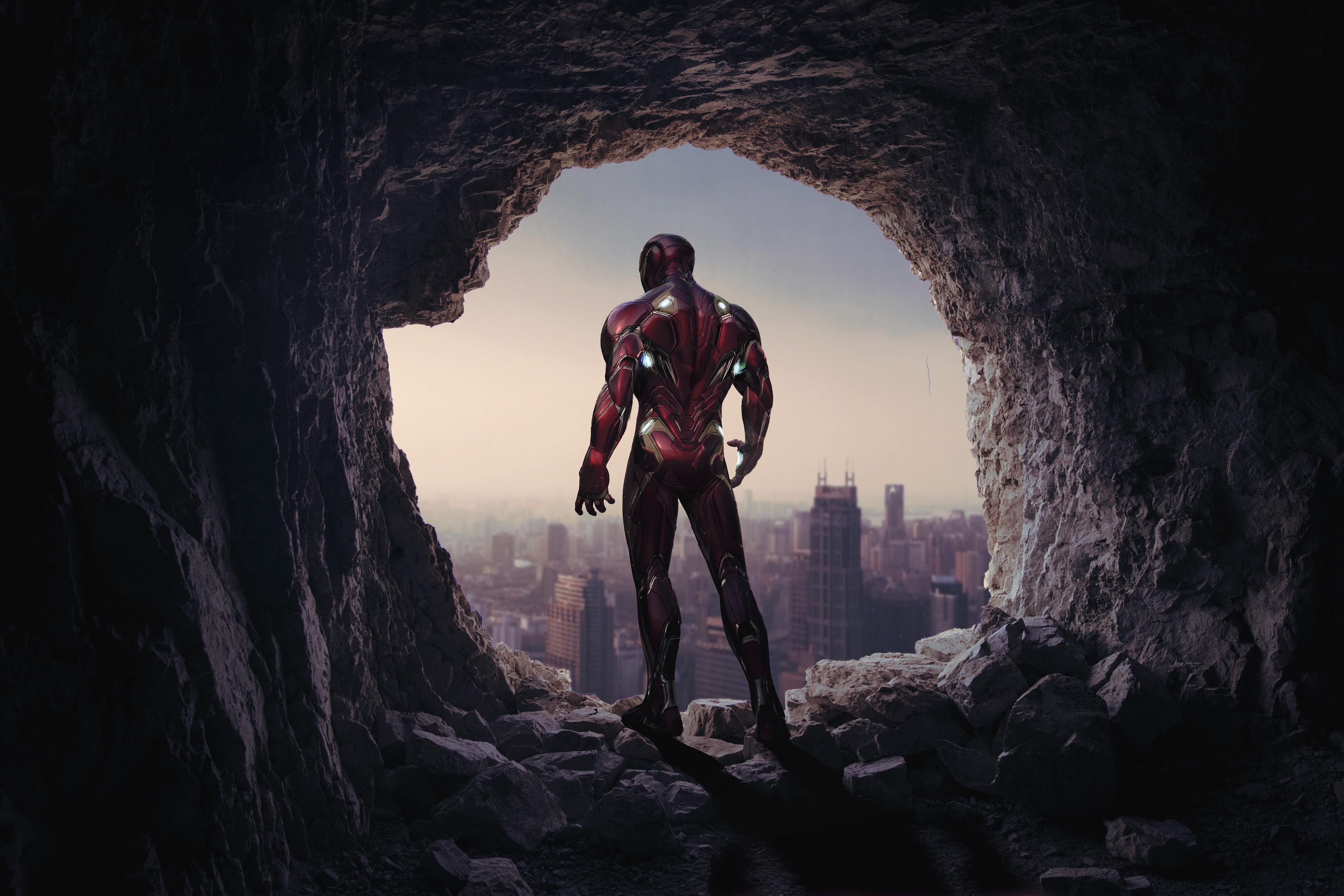 1920x1080 Iron Man Cave 4k 1080p Laptop Full Hd Wallpaper
