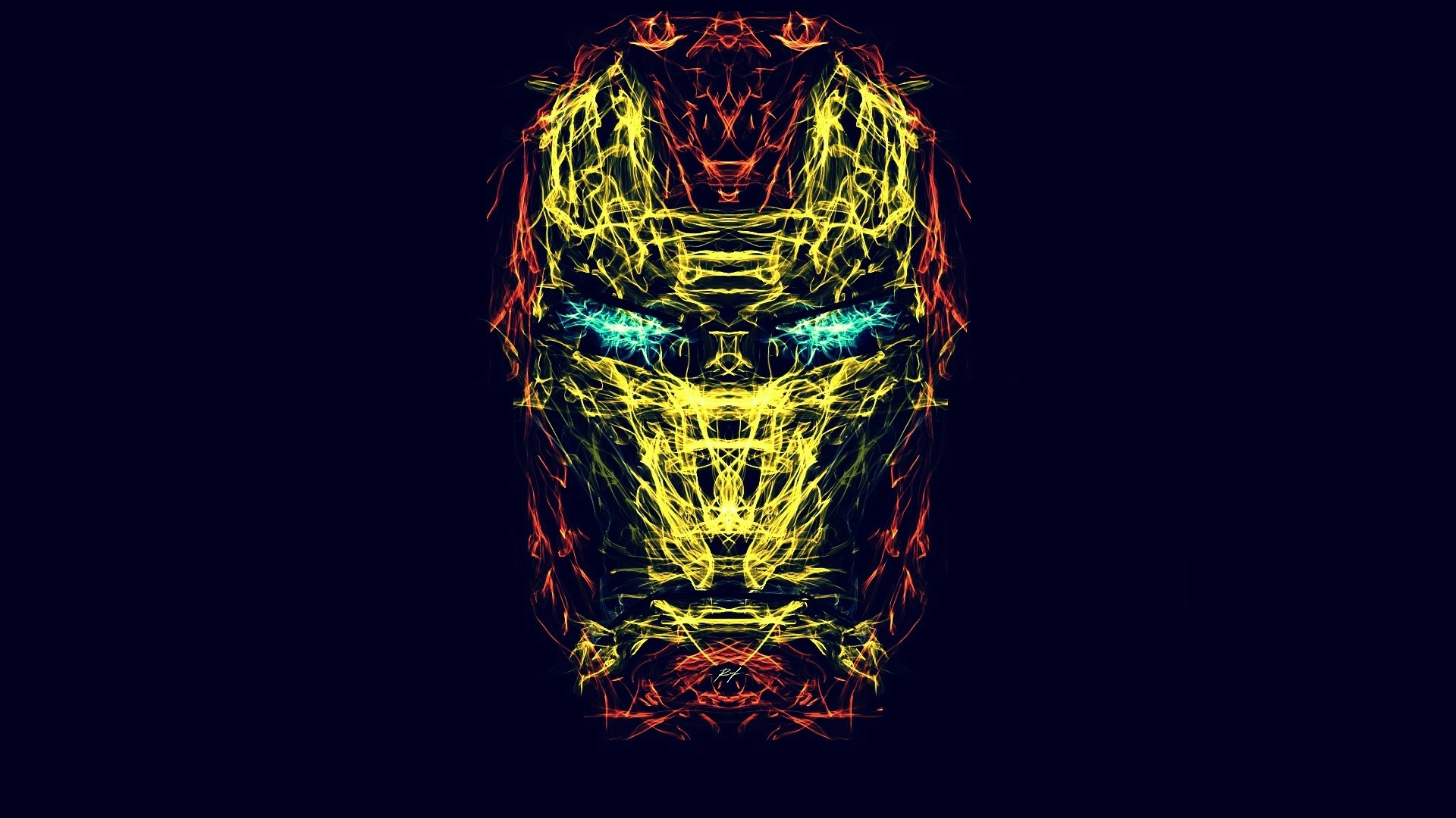 1920x1080 Iron Man Creative Abstract Art 1080p Laptop Full Hd