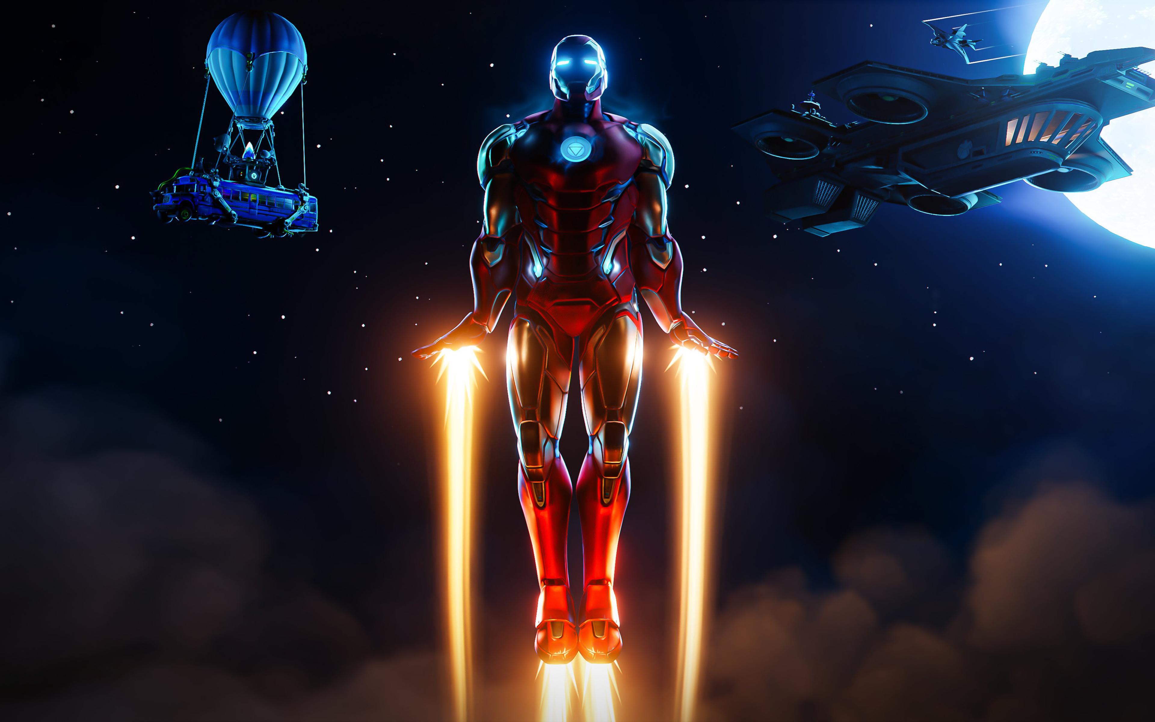 3840x2400 Iron Man Fortnite UHD 4K 3840x2400 Resolution ...