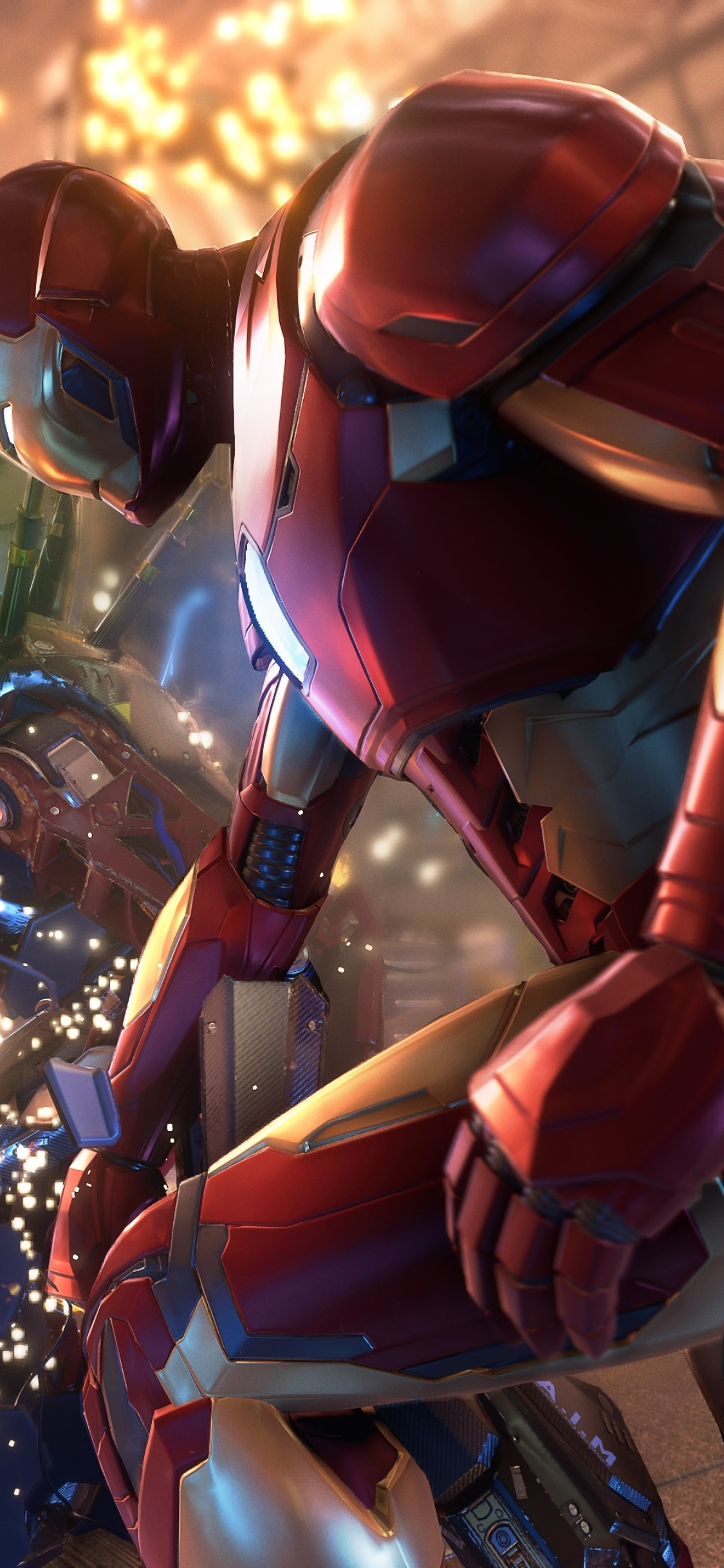 1125x2436 Iron Man Marvel's Avengers 2020 Game Iphone XS ...