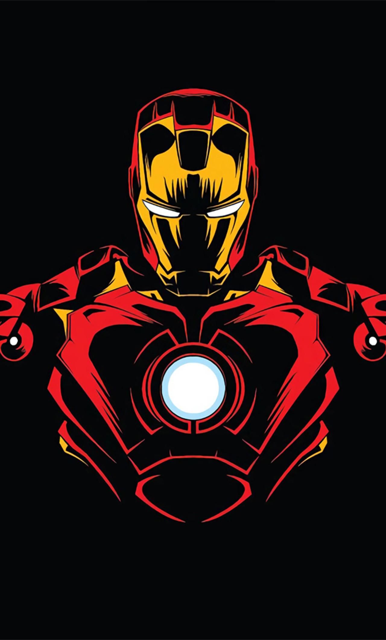 1280x2120 Iron Man Minimalist iPhone 6 plus Wallpaper, HD ...