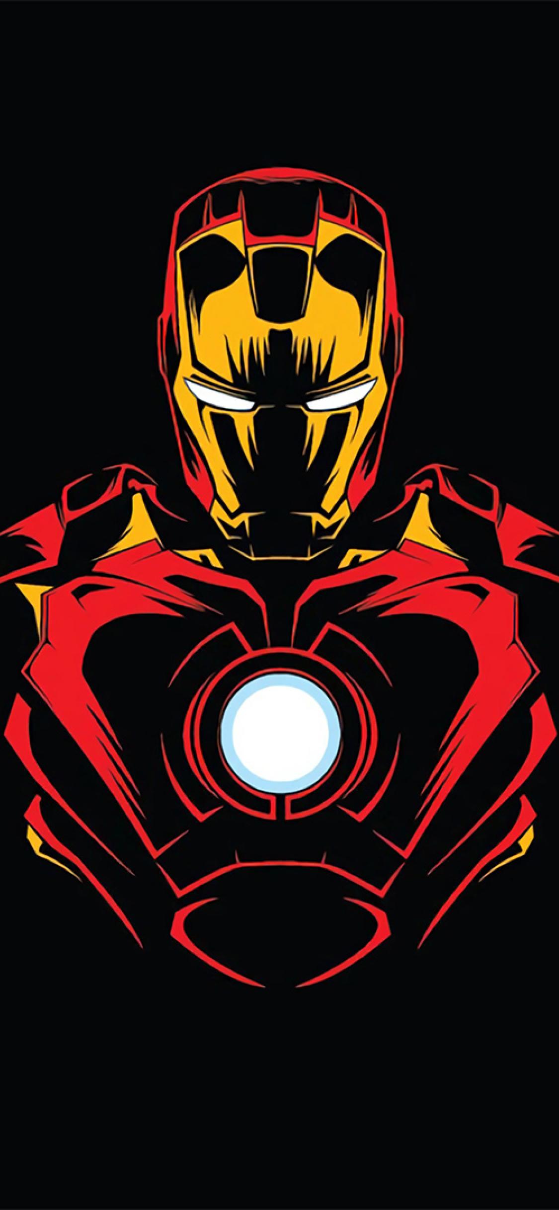 1125x2436 Iron Man Minimalist Iphone XS,Iphone 10,Iphone X ...