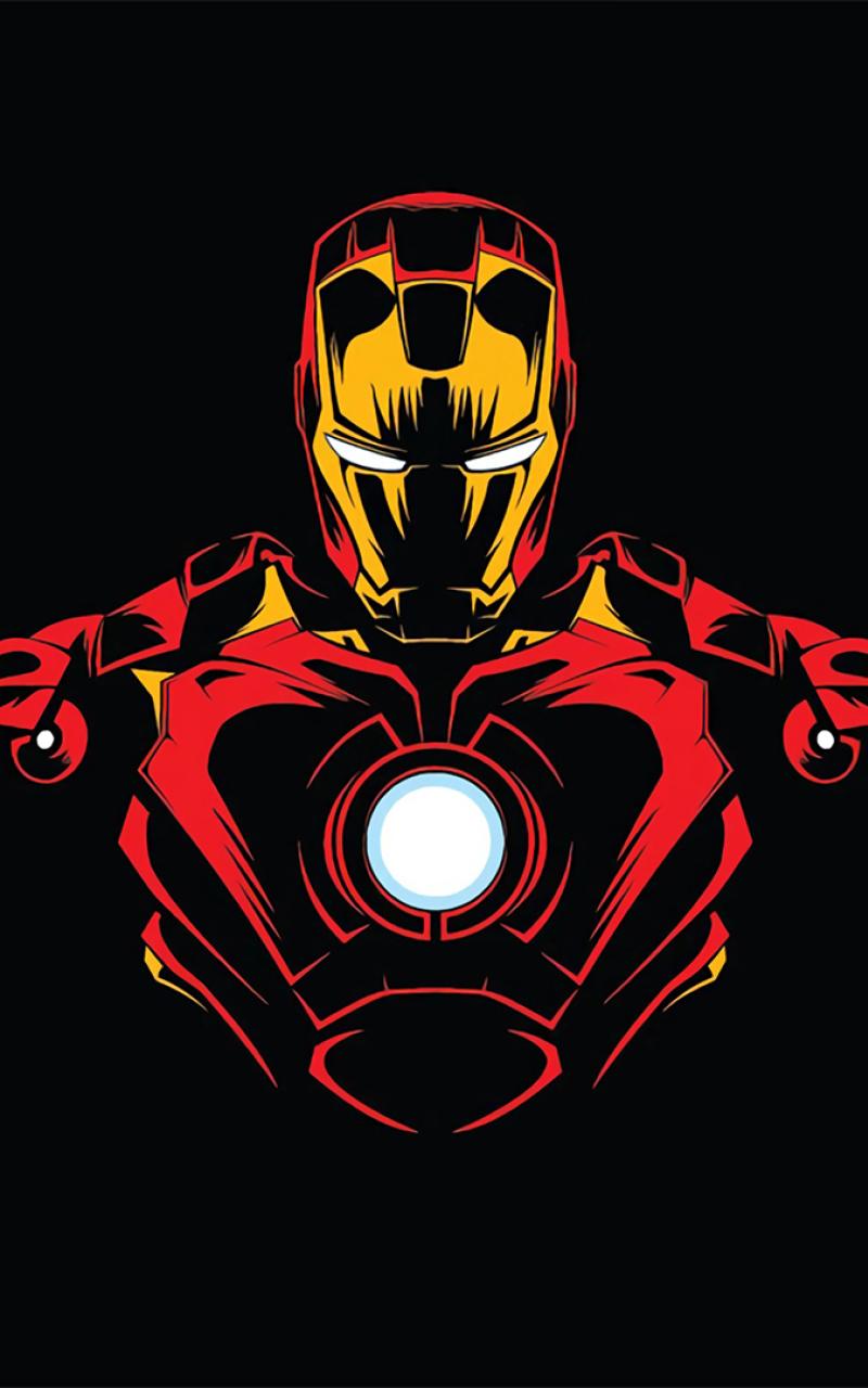 800x1280 Iron Man Minimalist Nexus 7,Samsung Galaxy Tab 10 ...