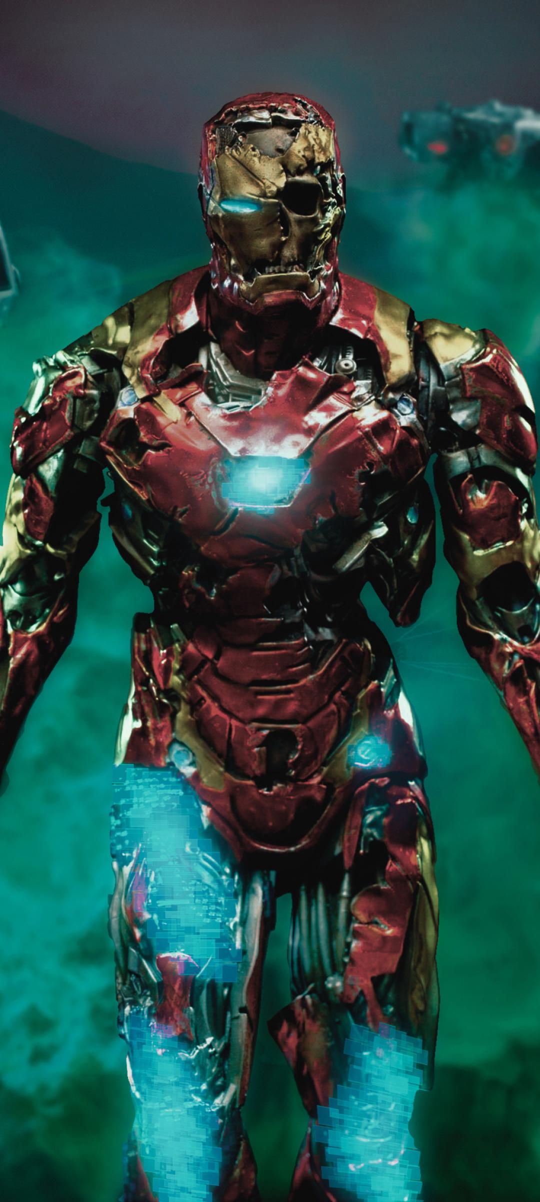 1080x2400 Iron Man Zombie 1080x2400 Resolution Wallpaper ...