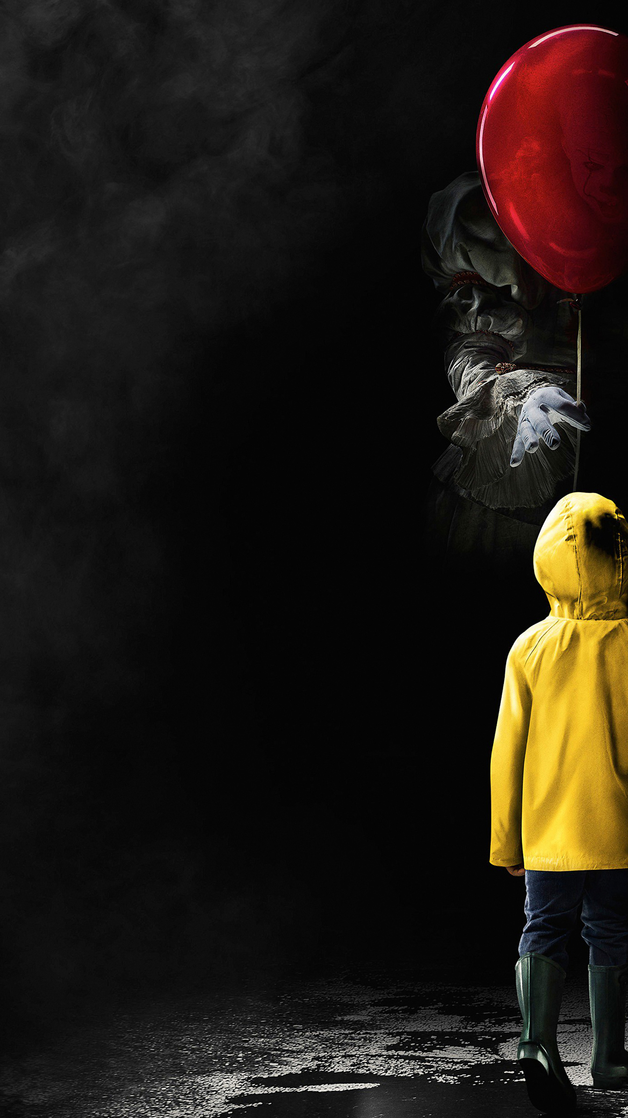 it 2017 horror movie poster, hd 4k wallpaper