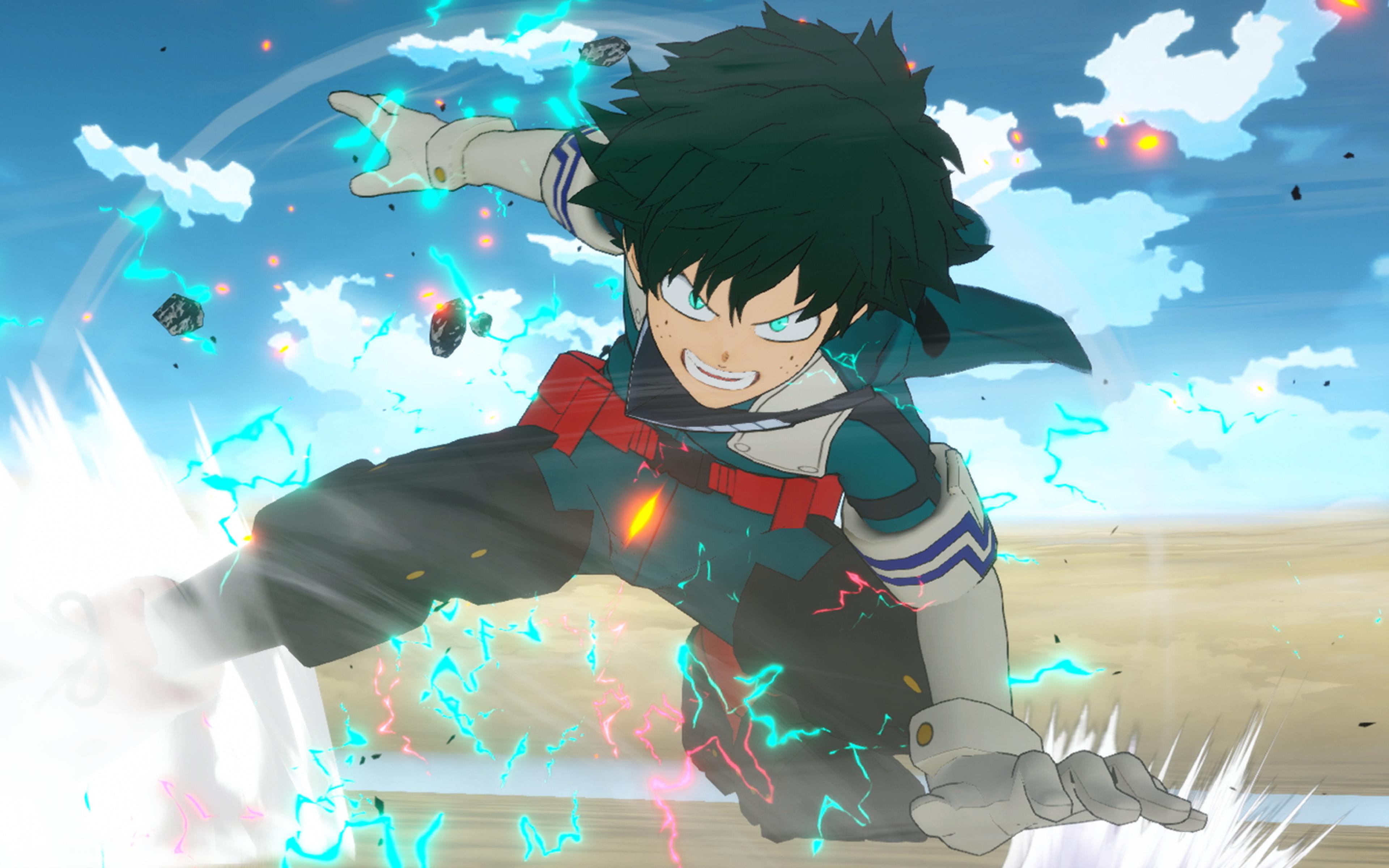 3840x2400 Izuku Midoriya Anime 4k 3840x2400 Resolution