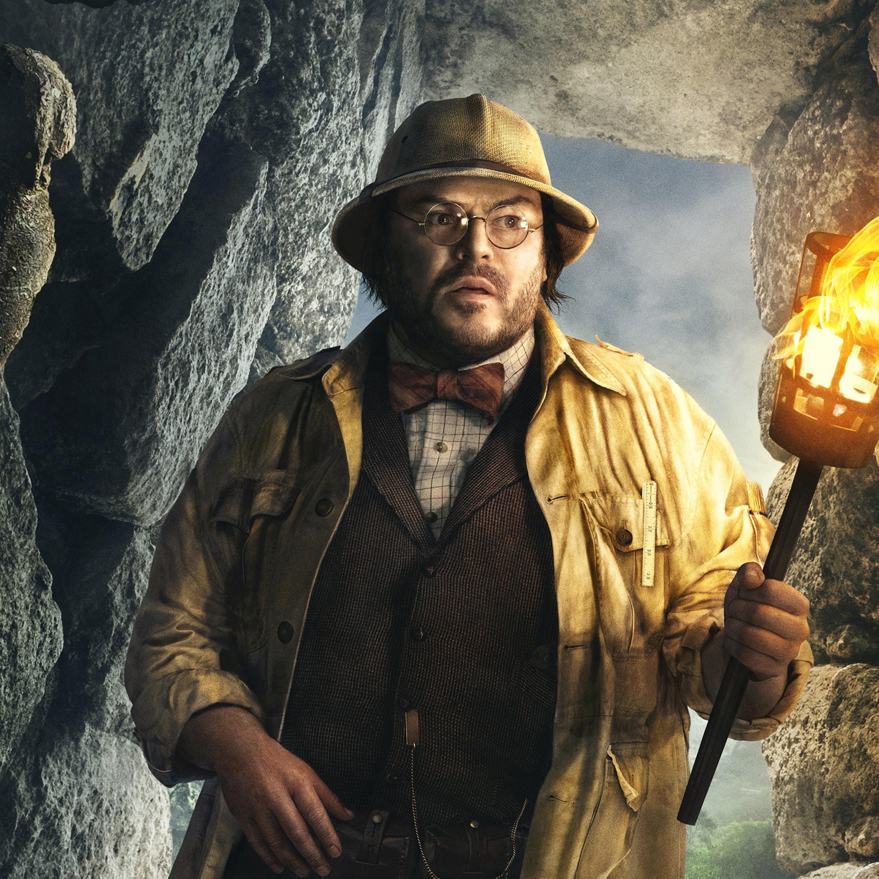 Jack Black In Jumanji Welcome To The Jungle, Full HD 2K
