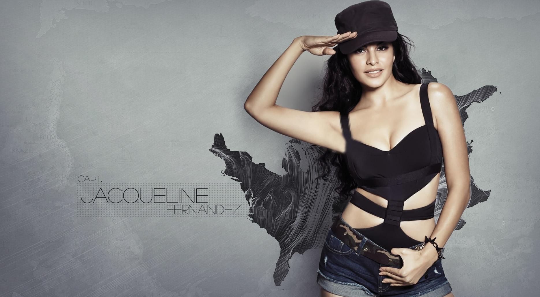 jacqueline fernandez in black cap photoshoot, full hd wallpaper