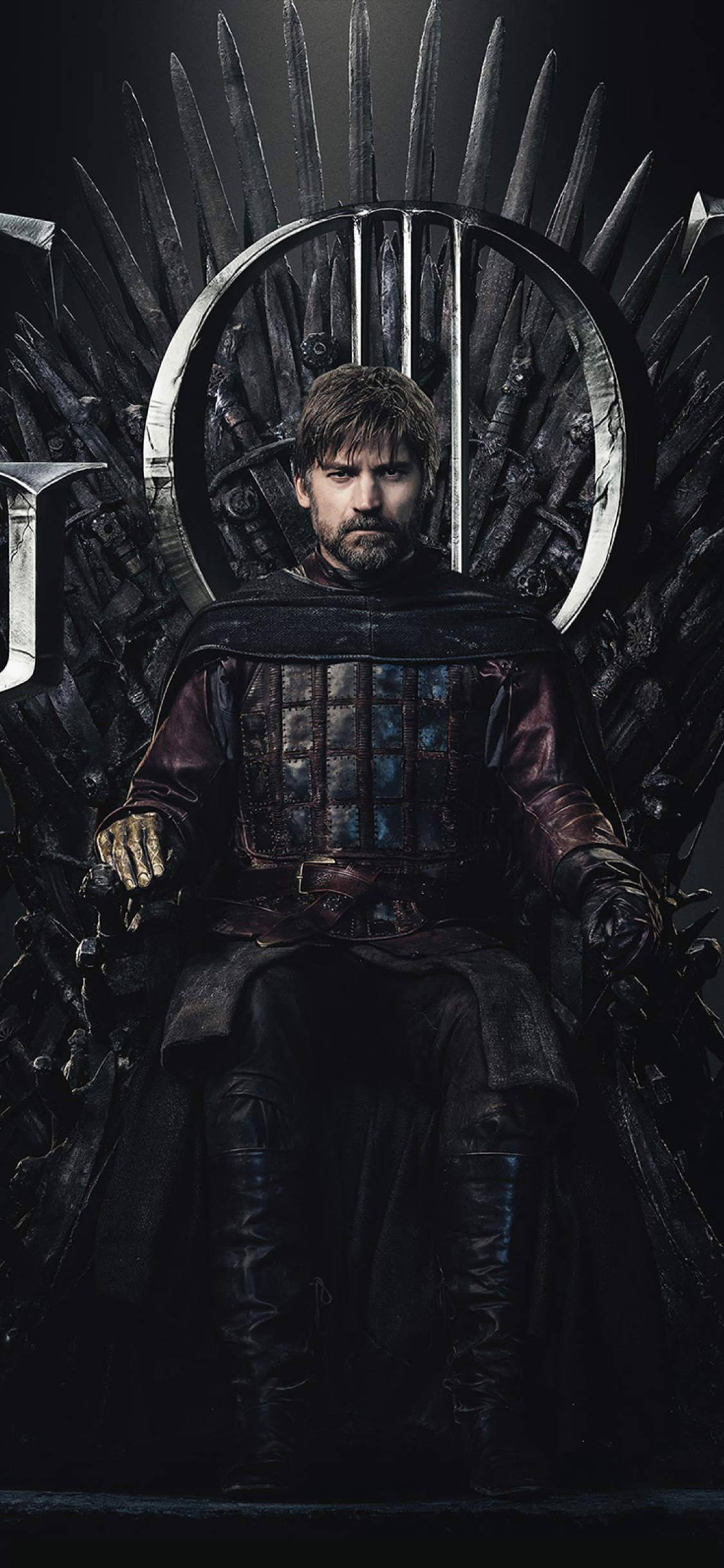 1125x2436 Jaime Lannister Game Of Thrones Season 8 Poster