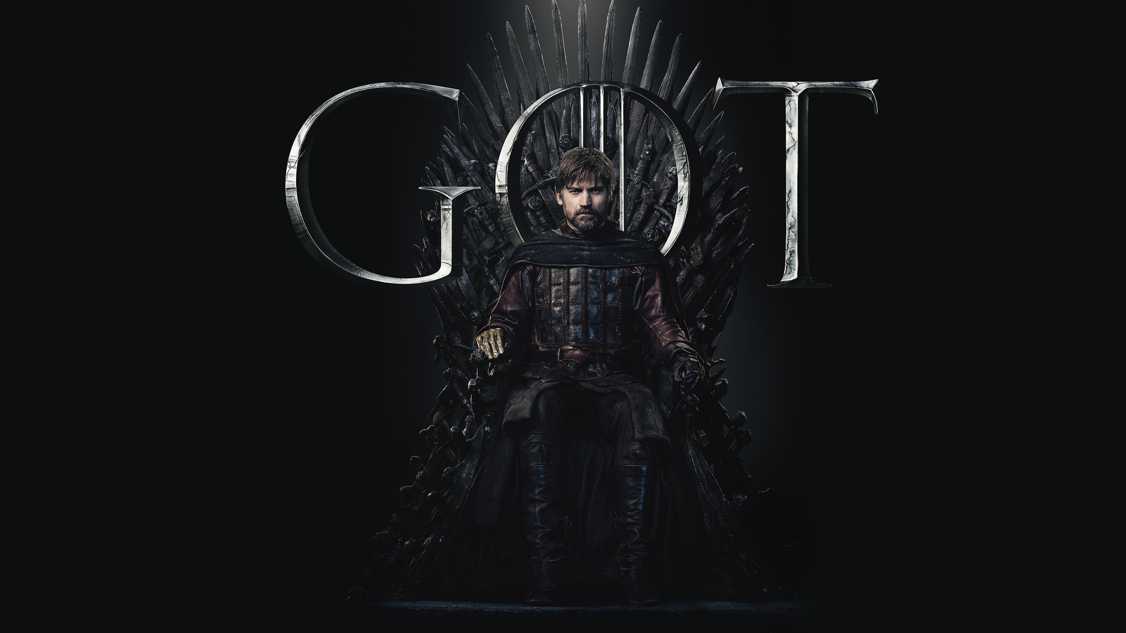 3840x2160 Jaime Lannister Game Of Thrones Season 8 Poster ...