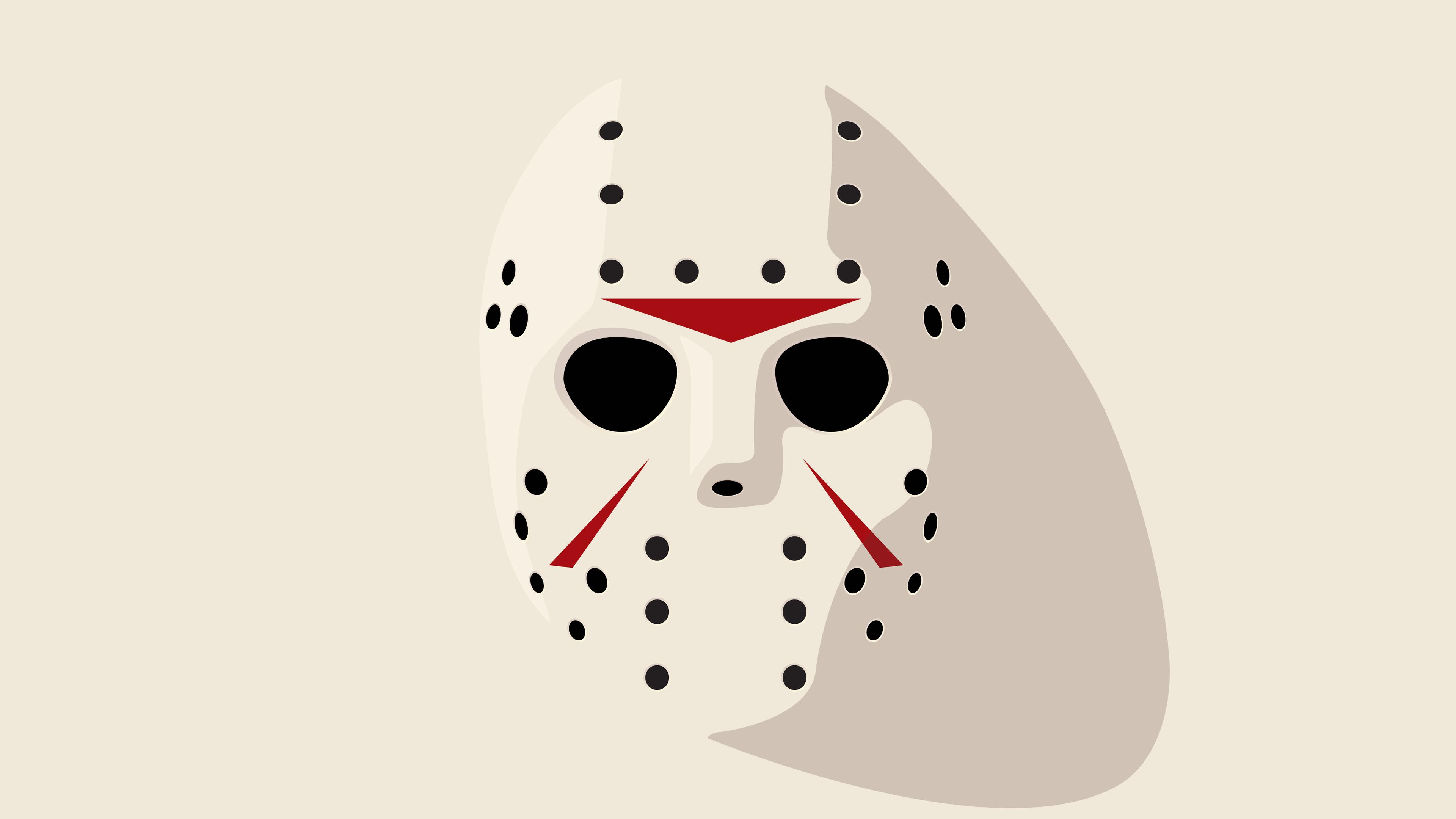 3840x2160 Jason Friday 13th Hockey Mask 4k Wallpaper Hd Vector