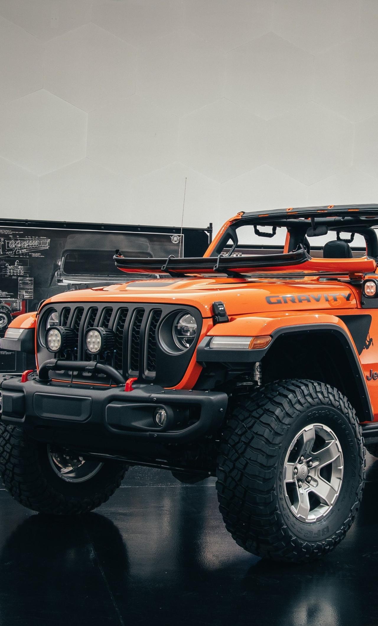1280x2120 Jeep Gladiator Gravity iPhone 6 plus Wallpaper ...