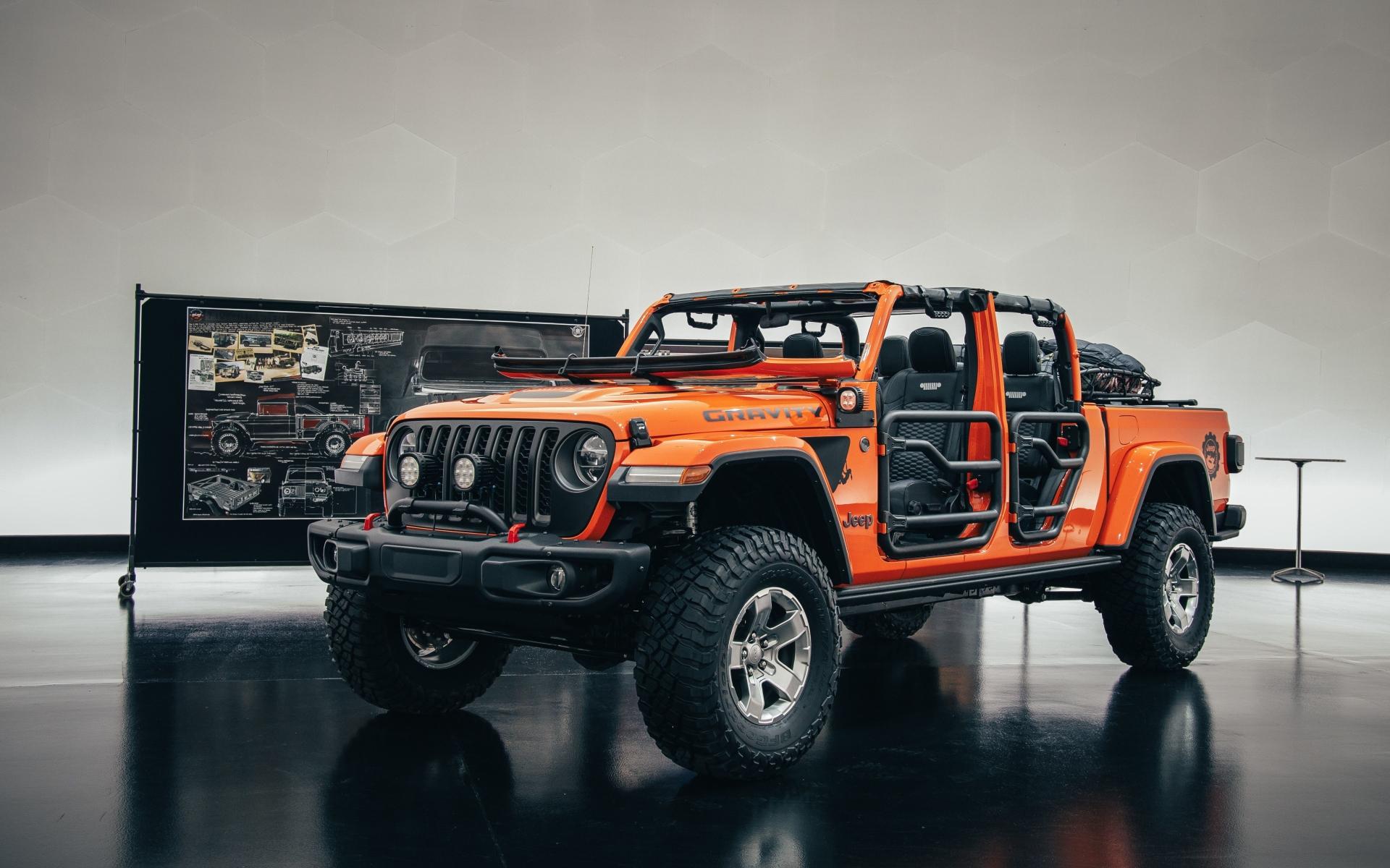 1920x1200 Jeep Gladiator Gravity 1200P Wallpaper, HD Cars ...